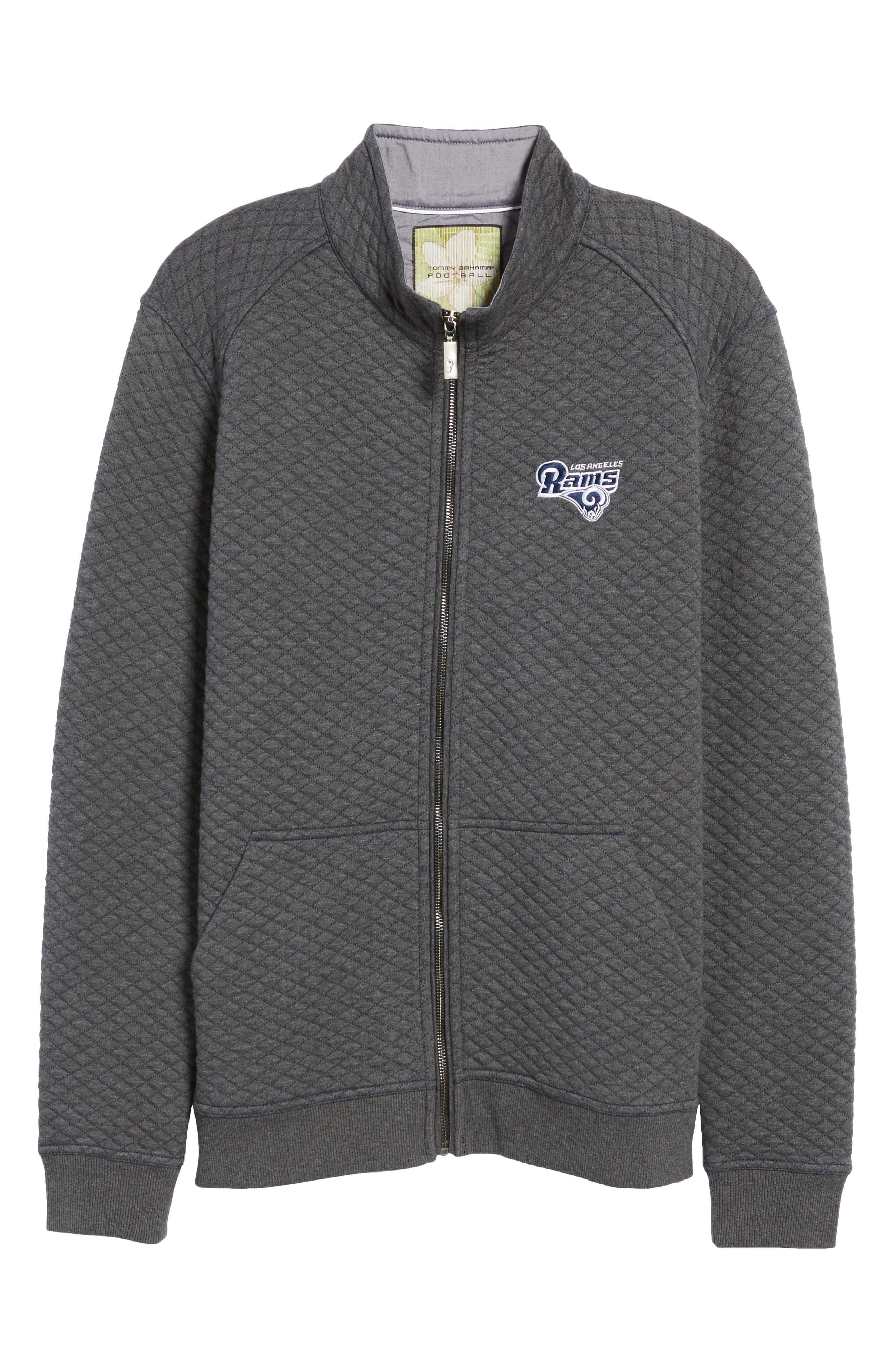 NFL Quiltessential Full Zip Sweatshirt,                             Alternate thumbnail 179, color,