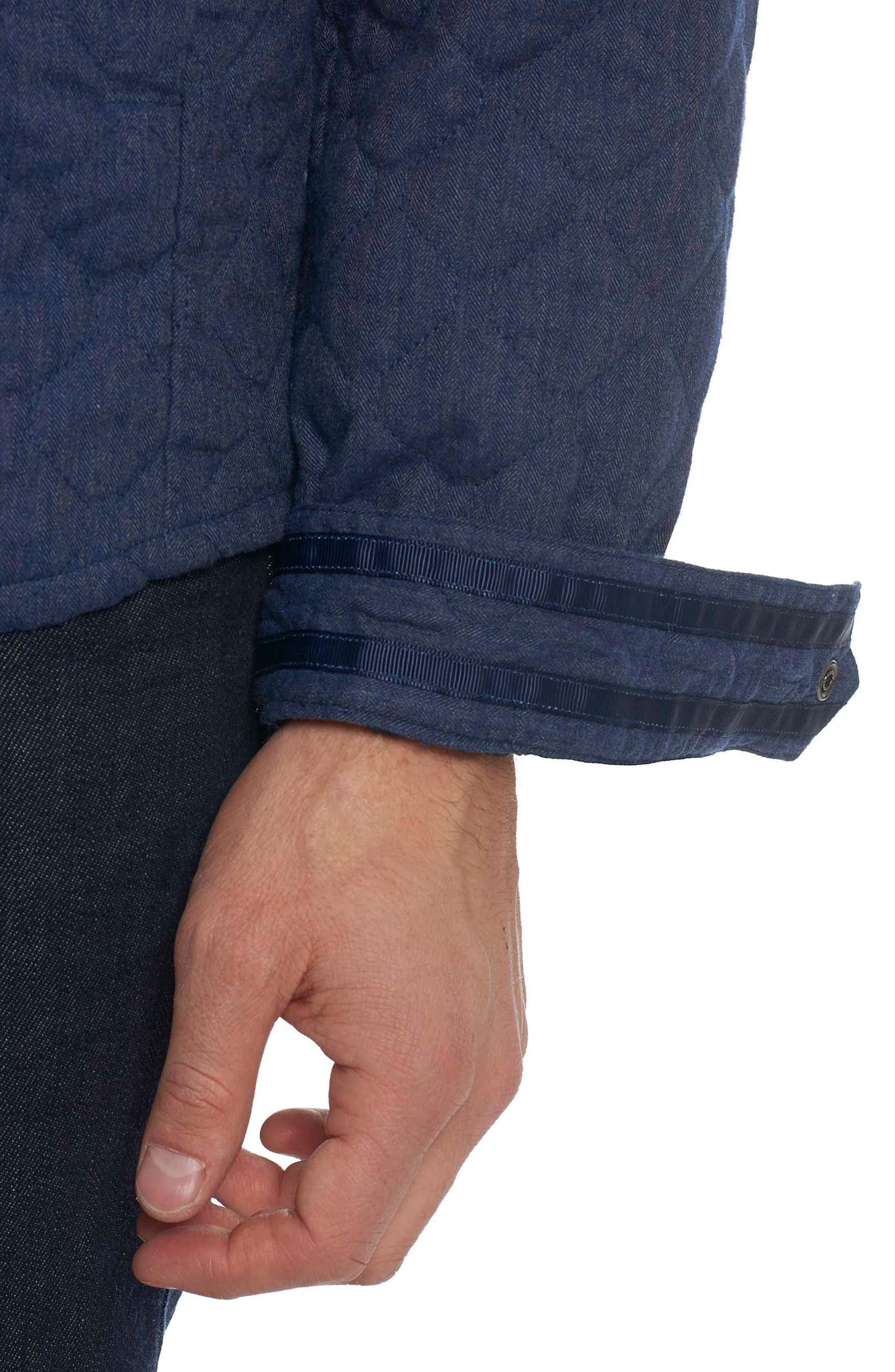 Lance Quilted Shirt Jacket,                             Alternate thumbnail 3, color,                             400