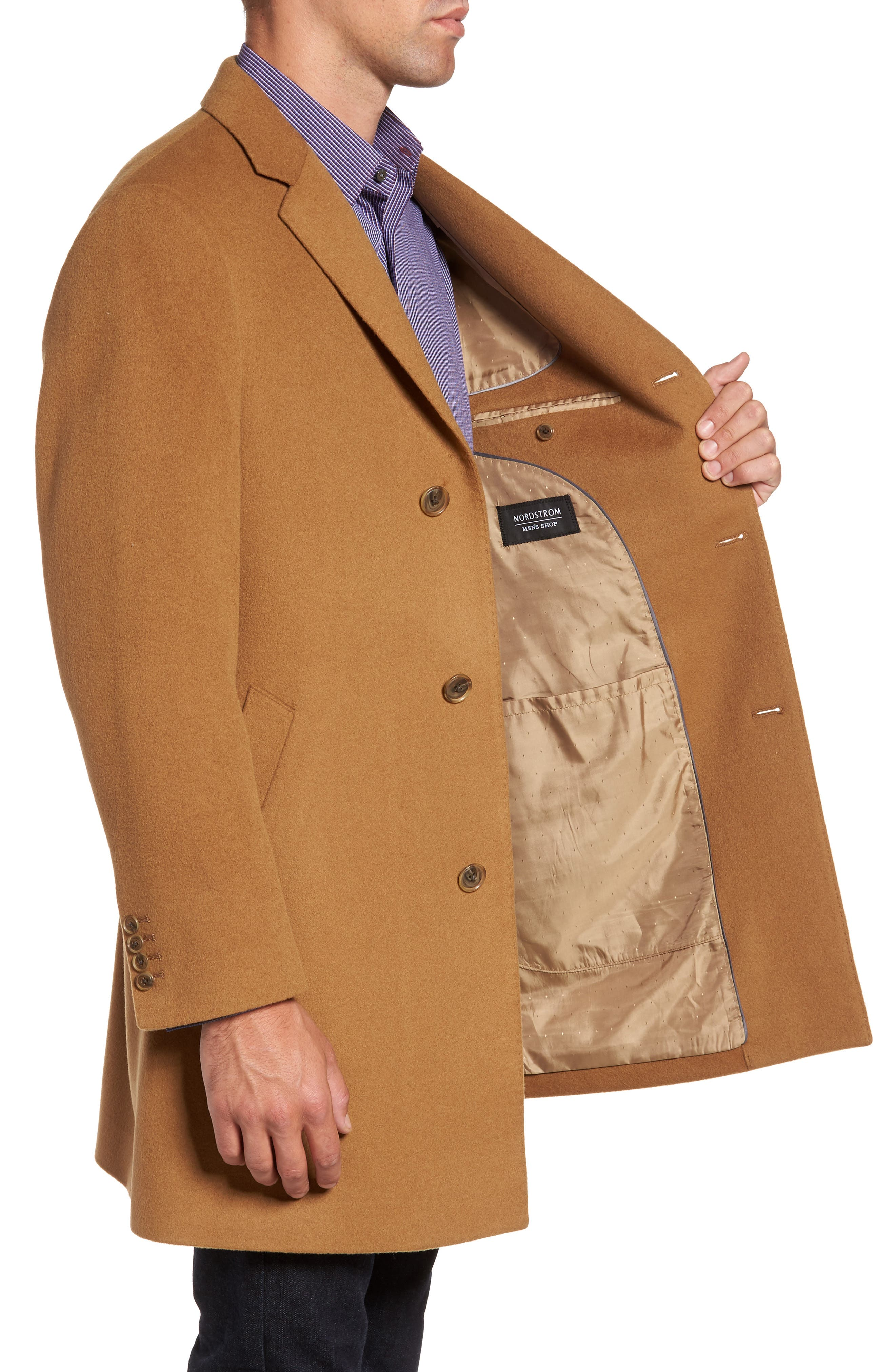 Mason Wool & Cashmere Overcoat,                             Alternate thumbnail 9, color,