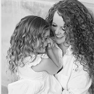 Grayson founder Audrey McLoghlin and her daughter.
