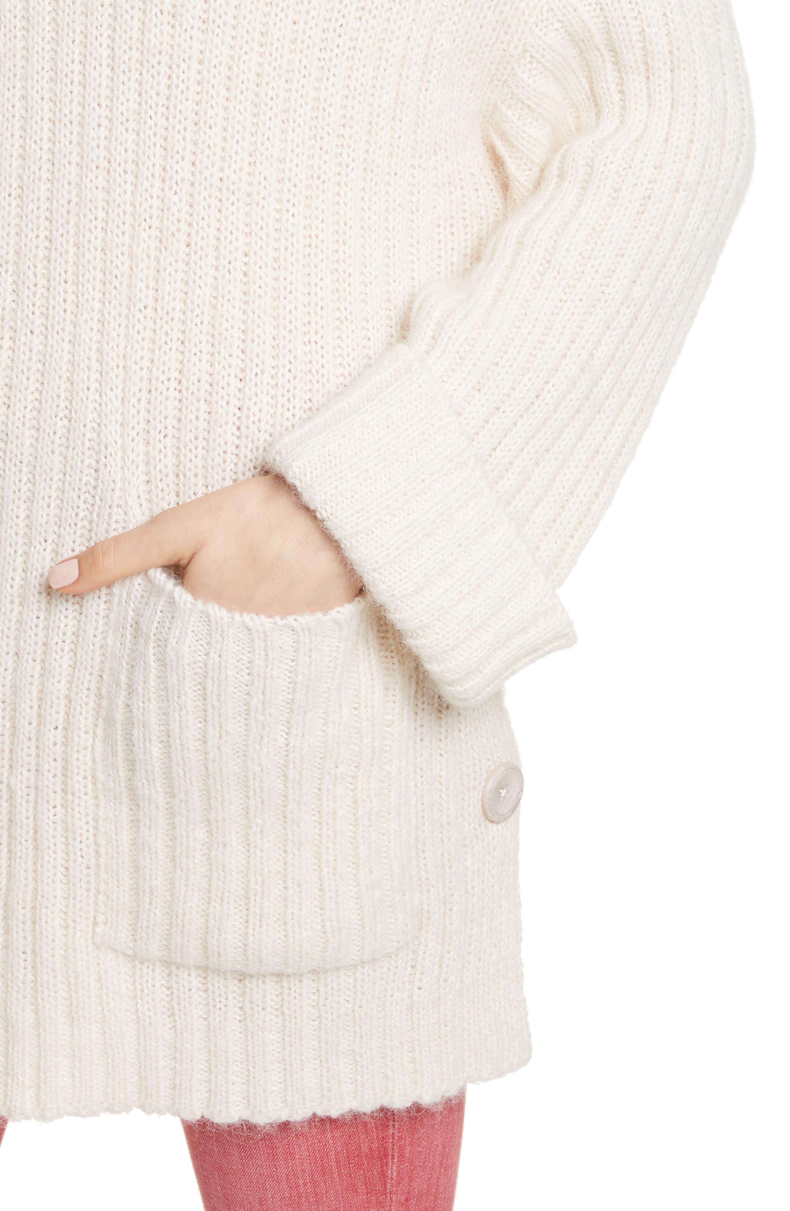 Banain Turtleneck Sweater,                             Alternate thumbnail 4, color,                             114