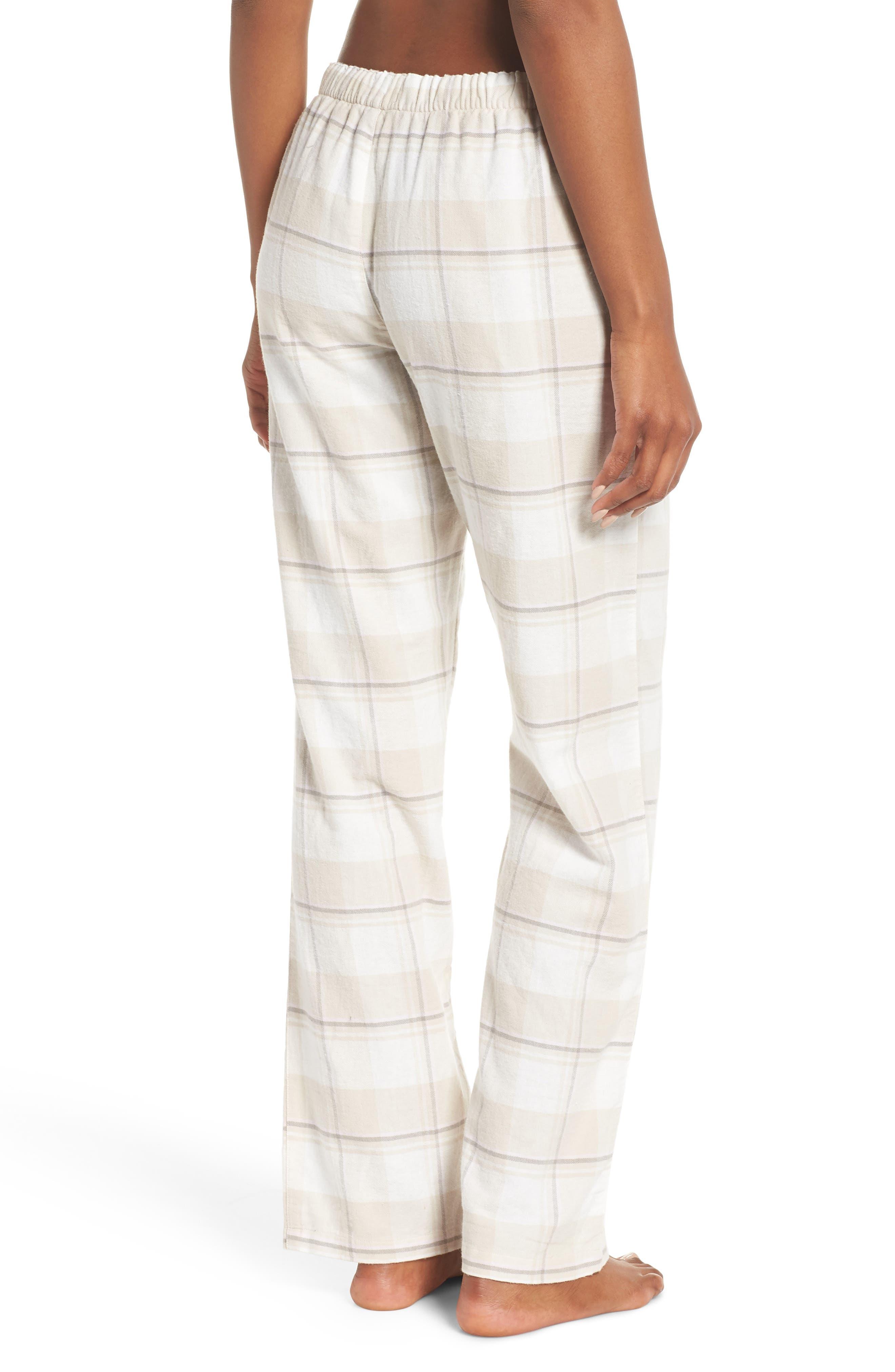 Plaid Pants,                             Alternate thumbnail 2, color,                             CHAMPAGNE