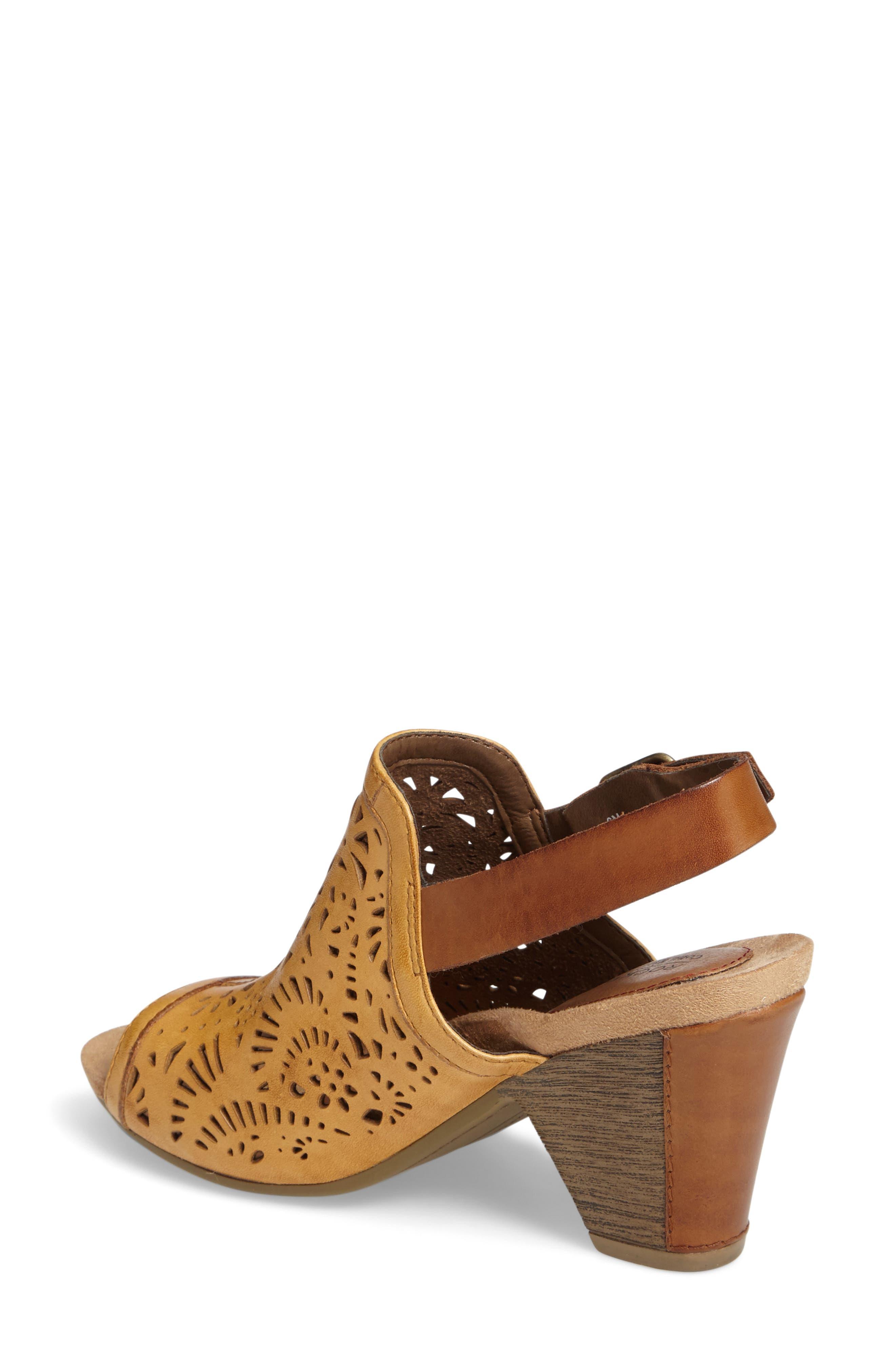 Tropez Block Heel Sandal,                             Alternate thumbnail 6, color,
