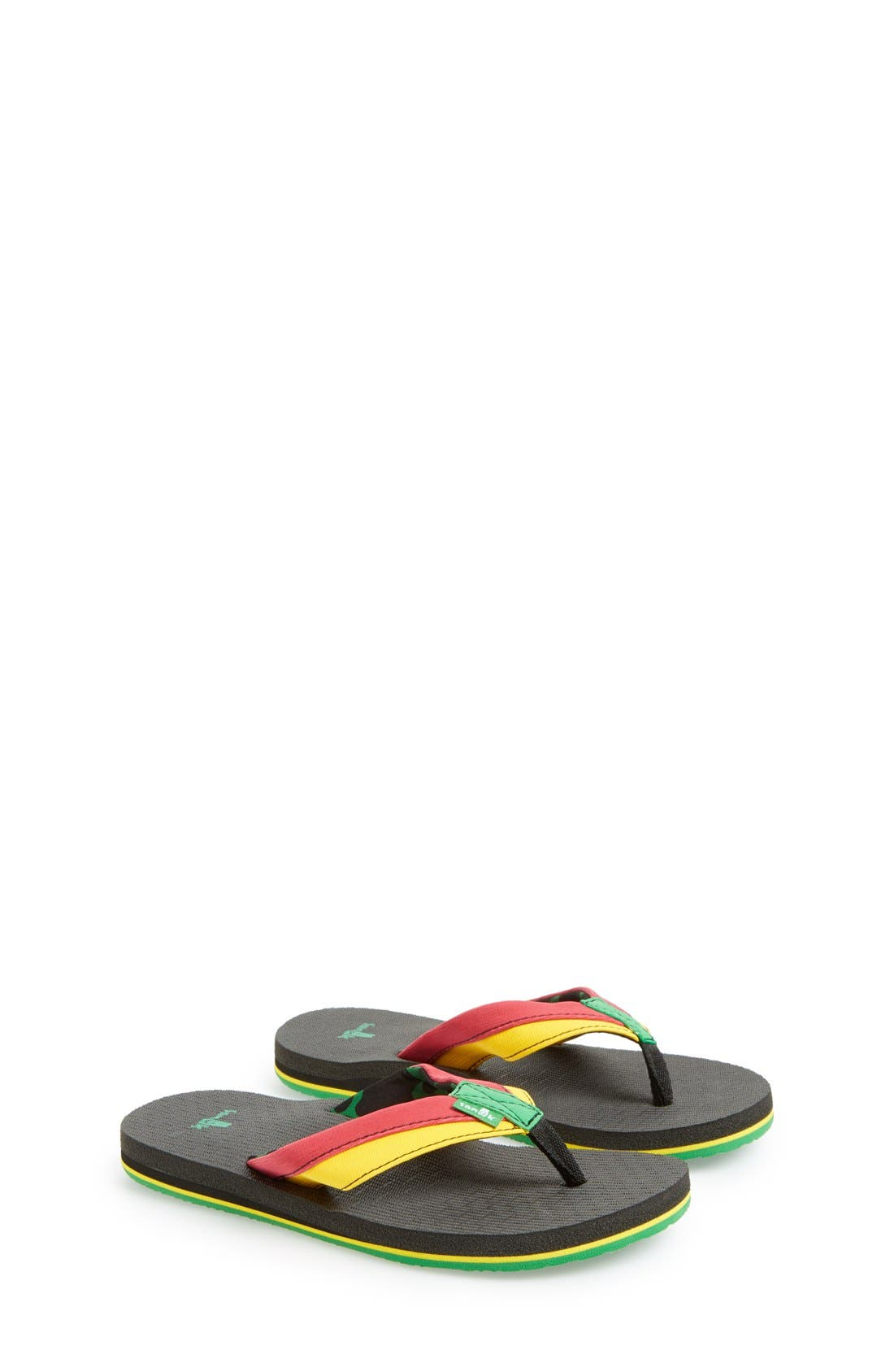 'Rootbeer Cozy' Lightweight Flip Flop Sandal,                             Main thumbnail 6, color,