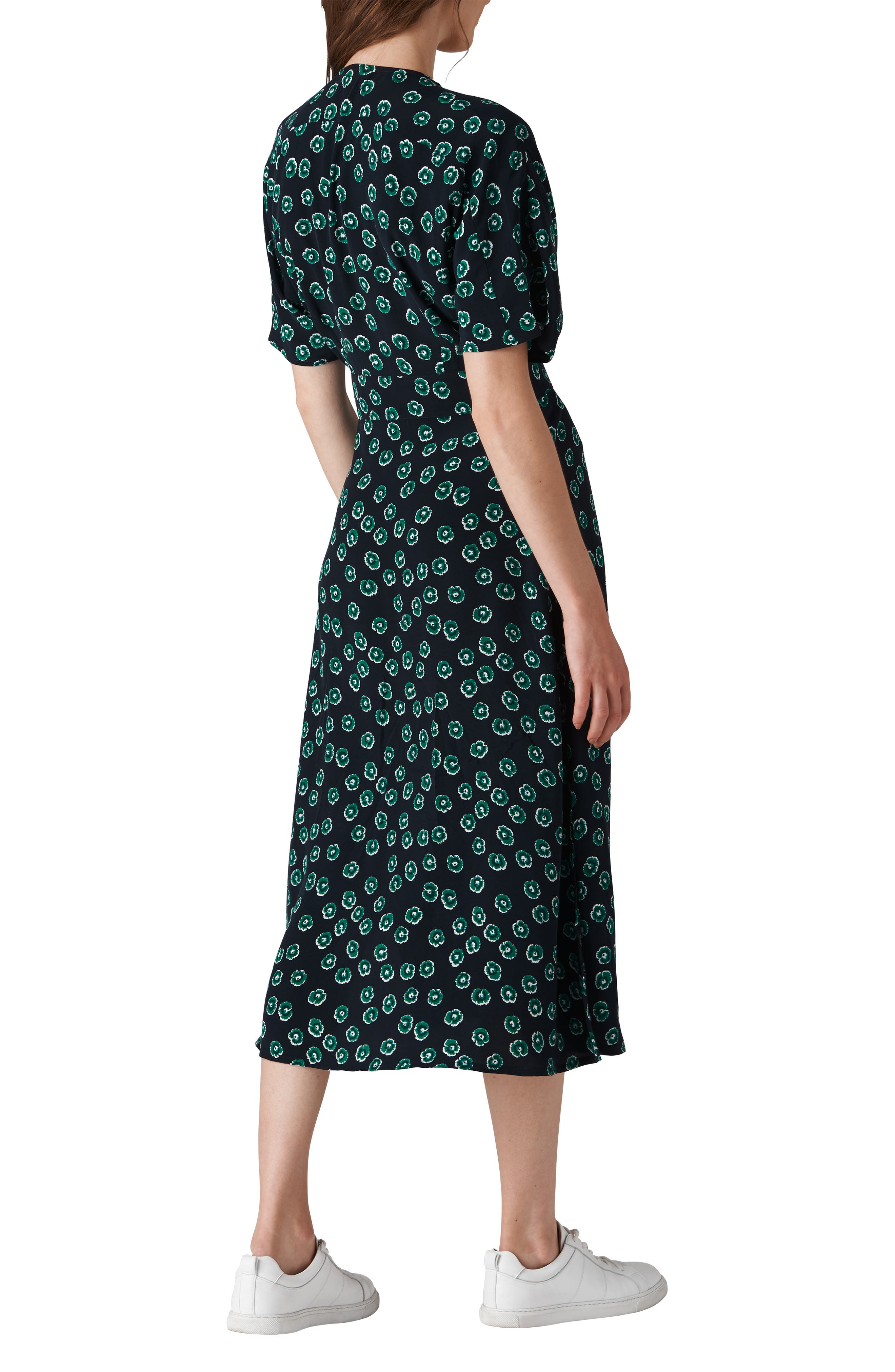 Lenno Nayna Shirtdress,                             Alternate thumbnail 2, color,                             GREEN MULTI