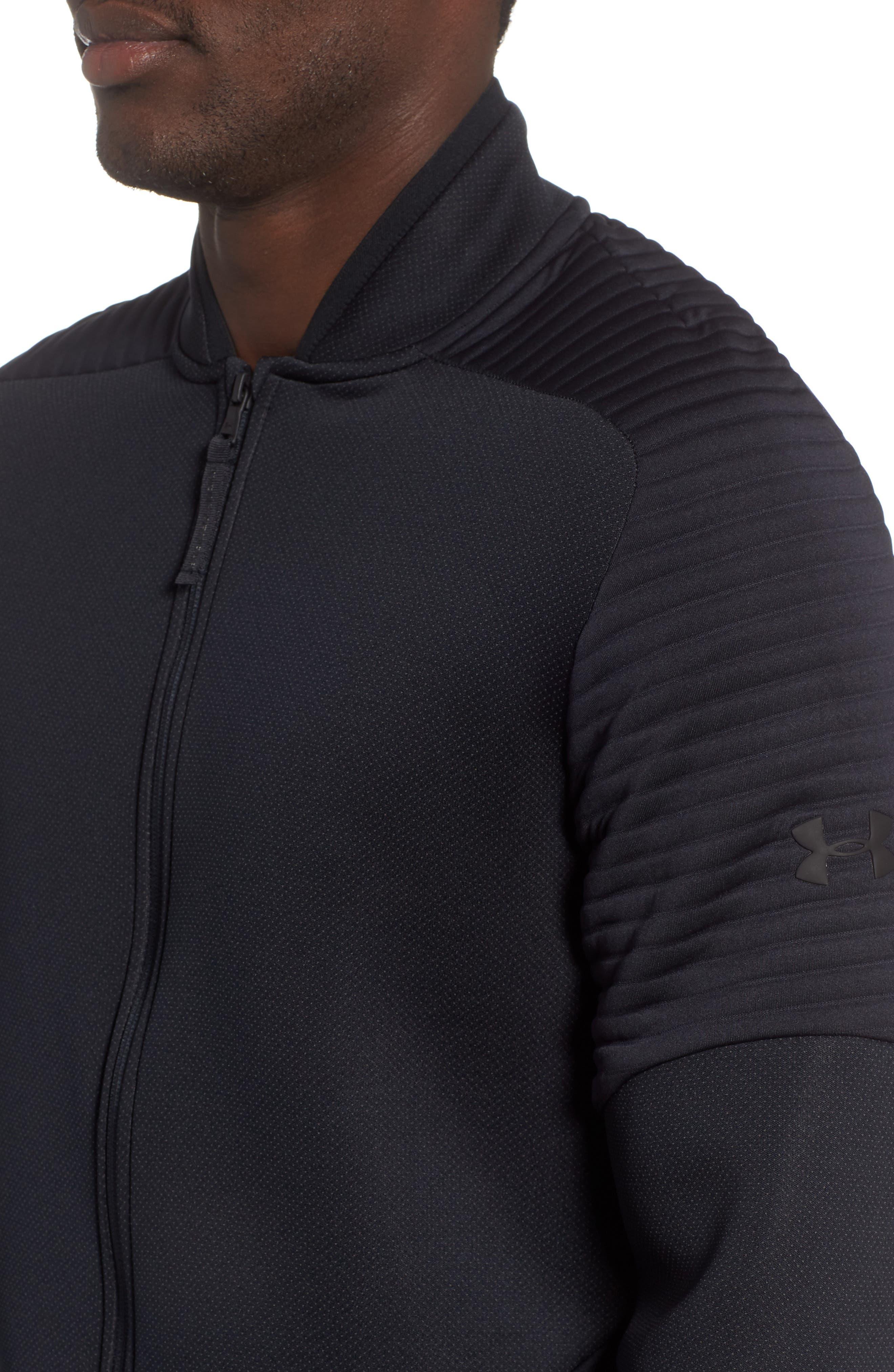 Unstoppable /MOVE Jacket,                             Alternate thumbnail 4, color,                             BLACK/ CHARCOAL/ BLACK