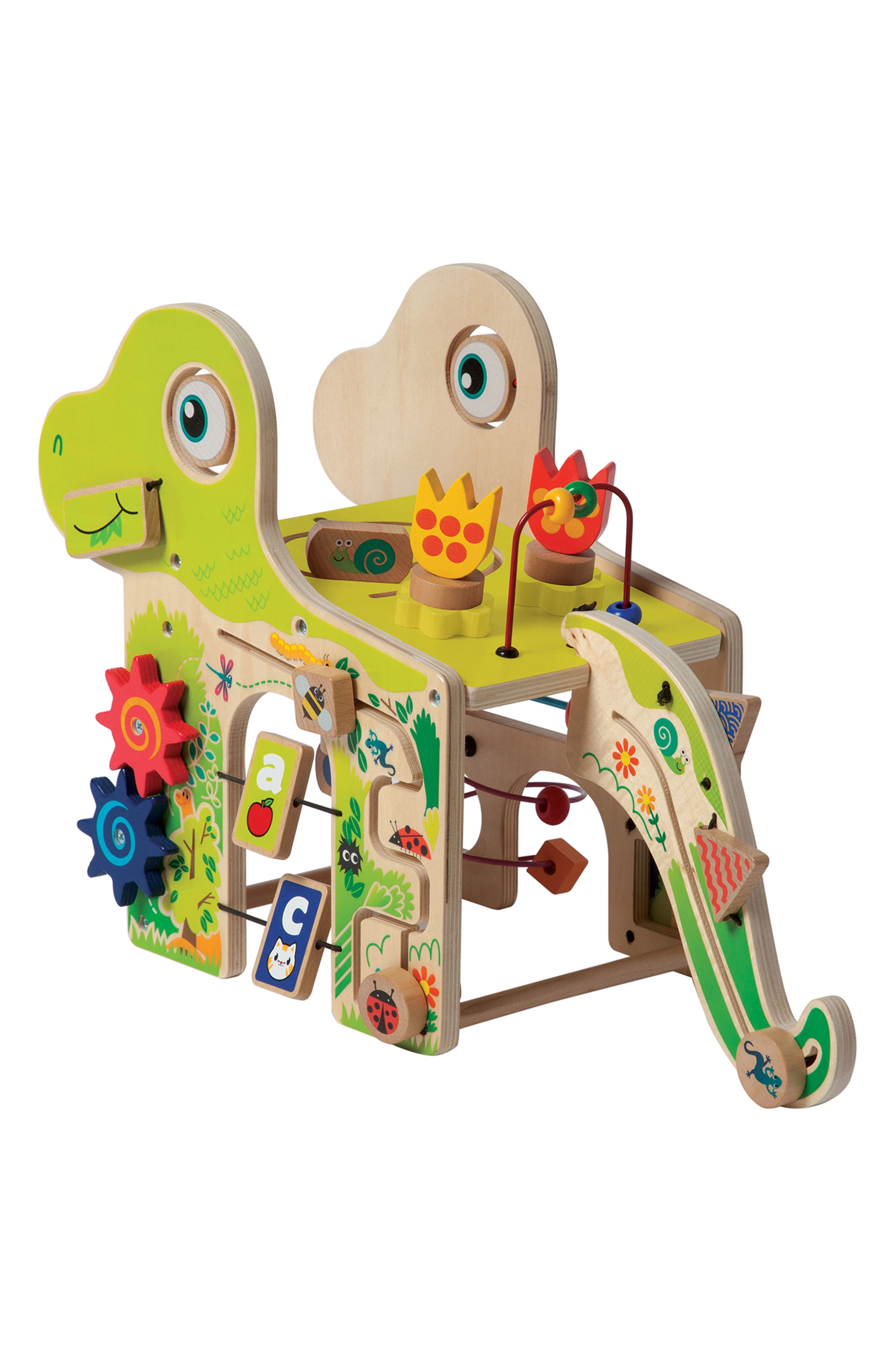 Wooden Playful Dino Activity Center,                             Alternate thumbnail 3, color,                             300