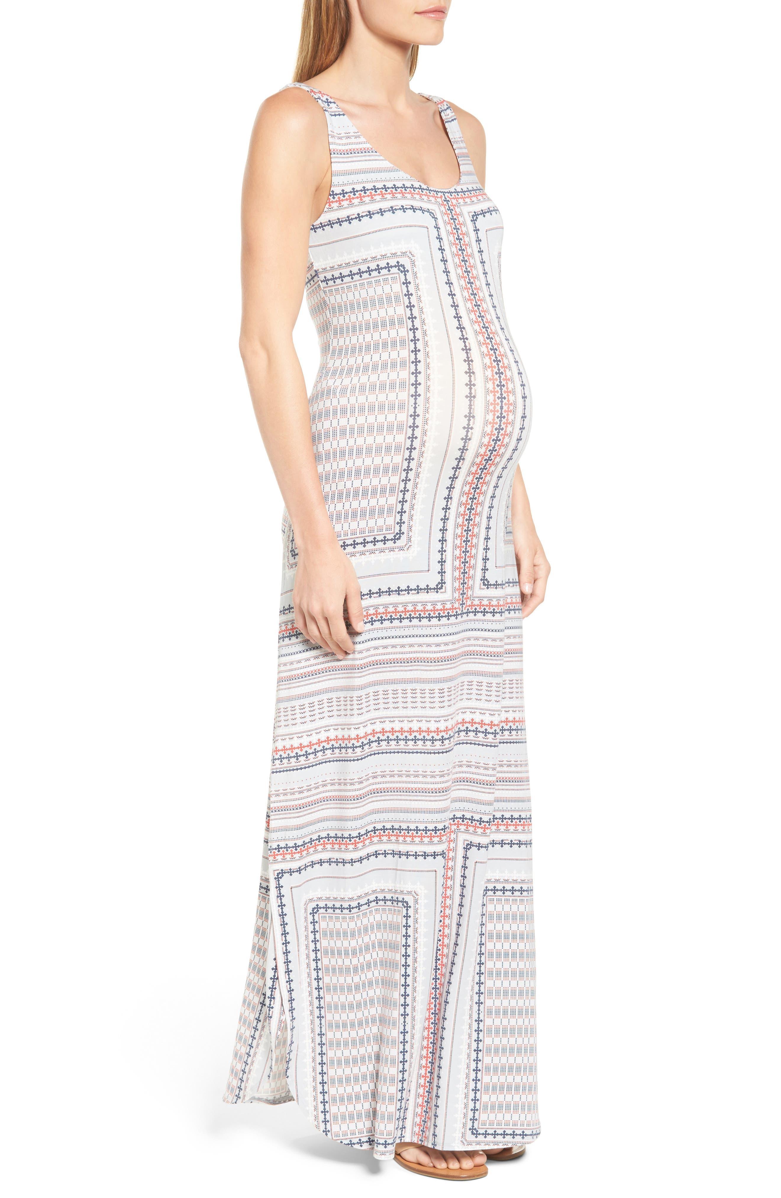 Jack Maxi Dress,                             Alternate thumbnail 6, color,