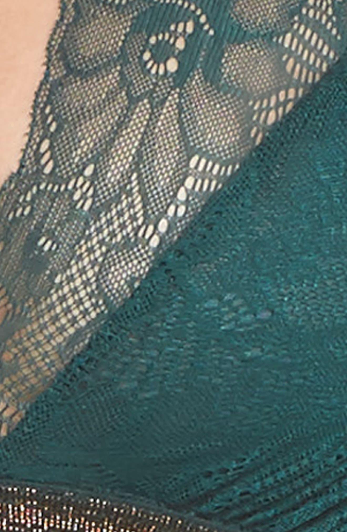 Giselle Lace Bralette,                             Alternate thumbnail 15, color,