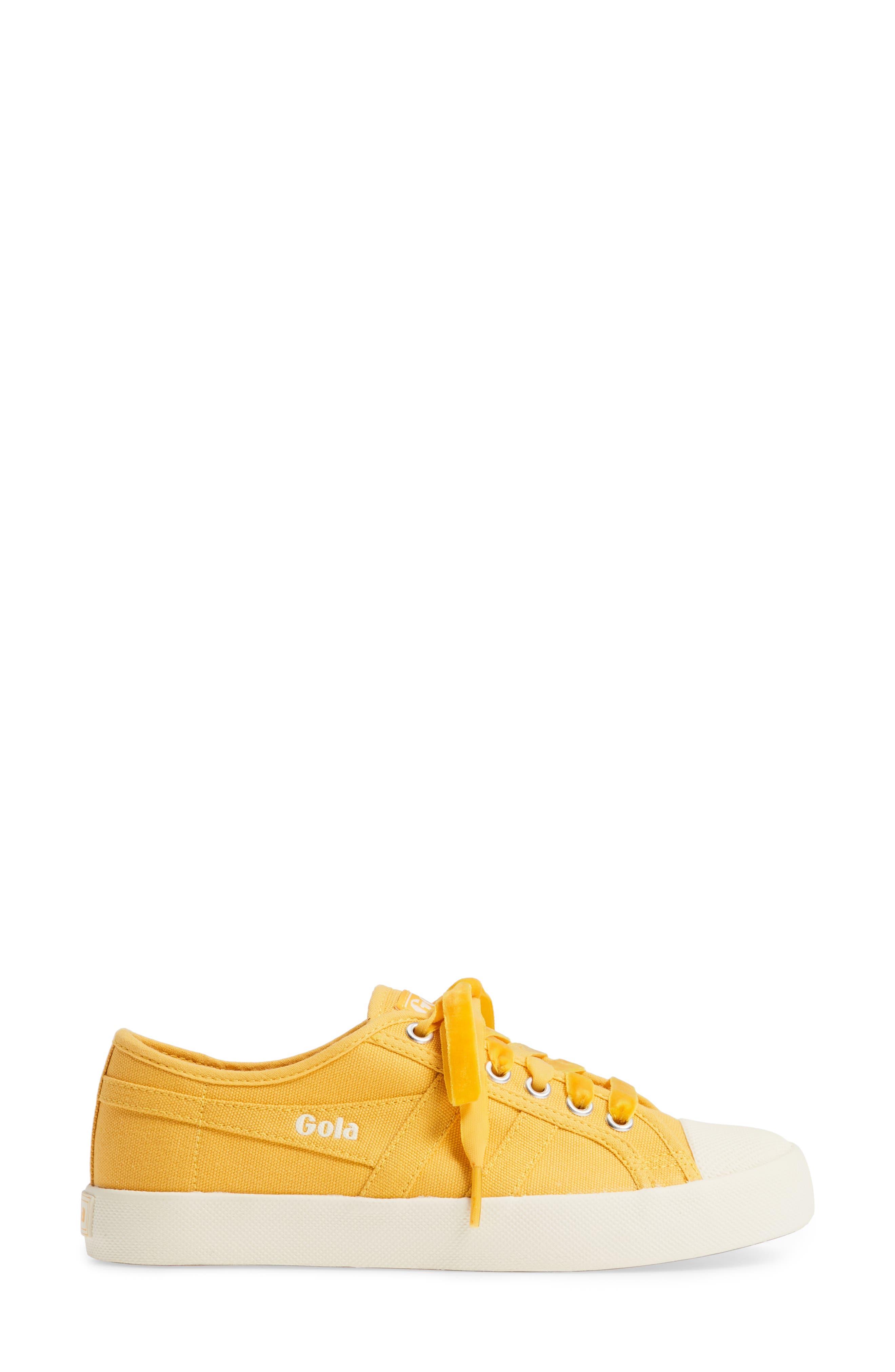 Coaster Sneaker,                             Alternate thumbnail 3, color,                             SUN/ OFF WHITE