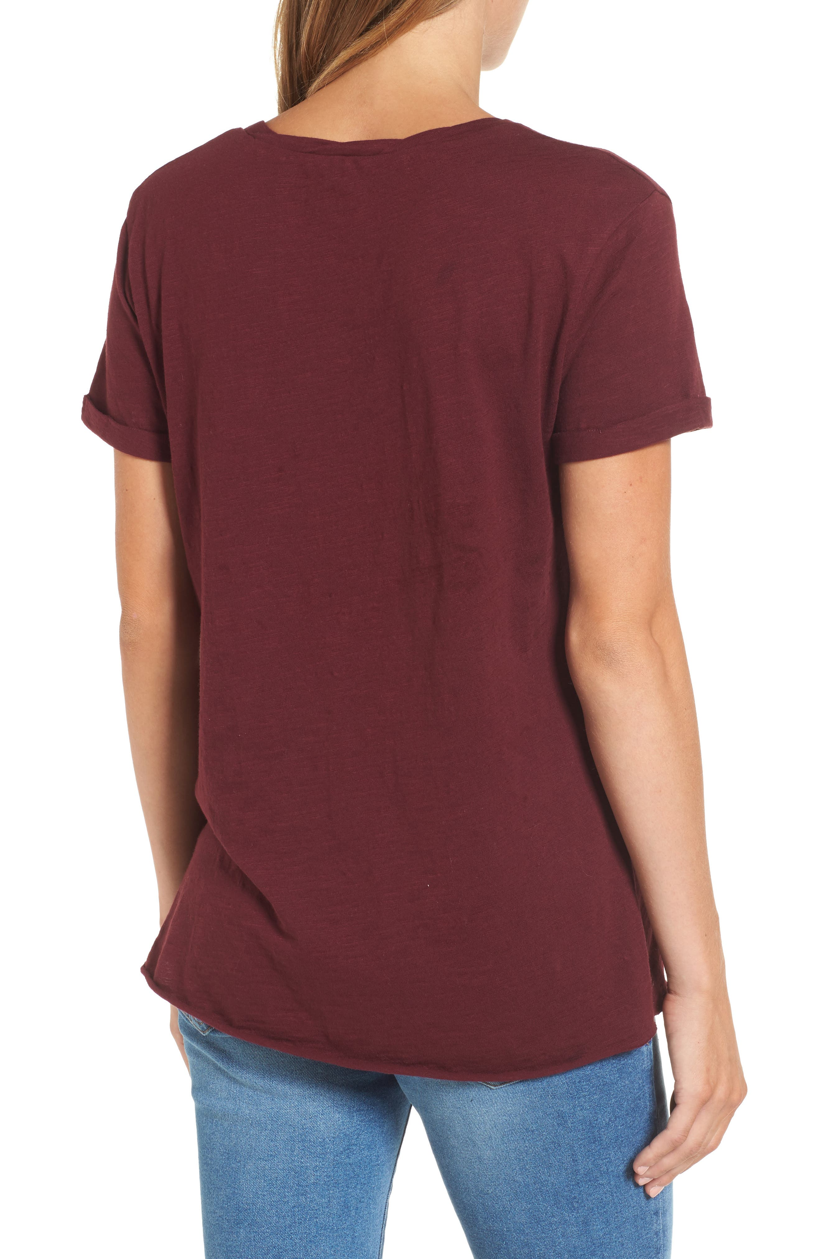 Knotted Tee,                             Alternate thumbnail 15, color,