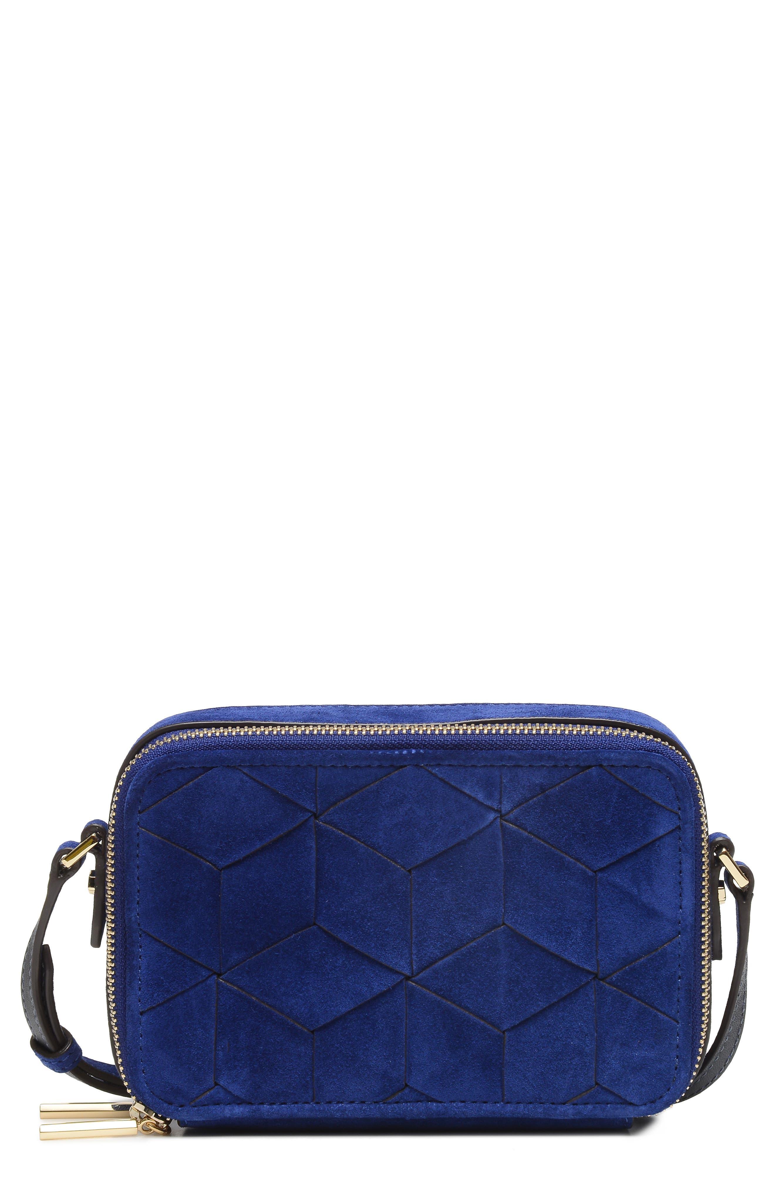 Roam Suede Camera Bag,                         Main,                         color, 400