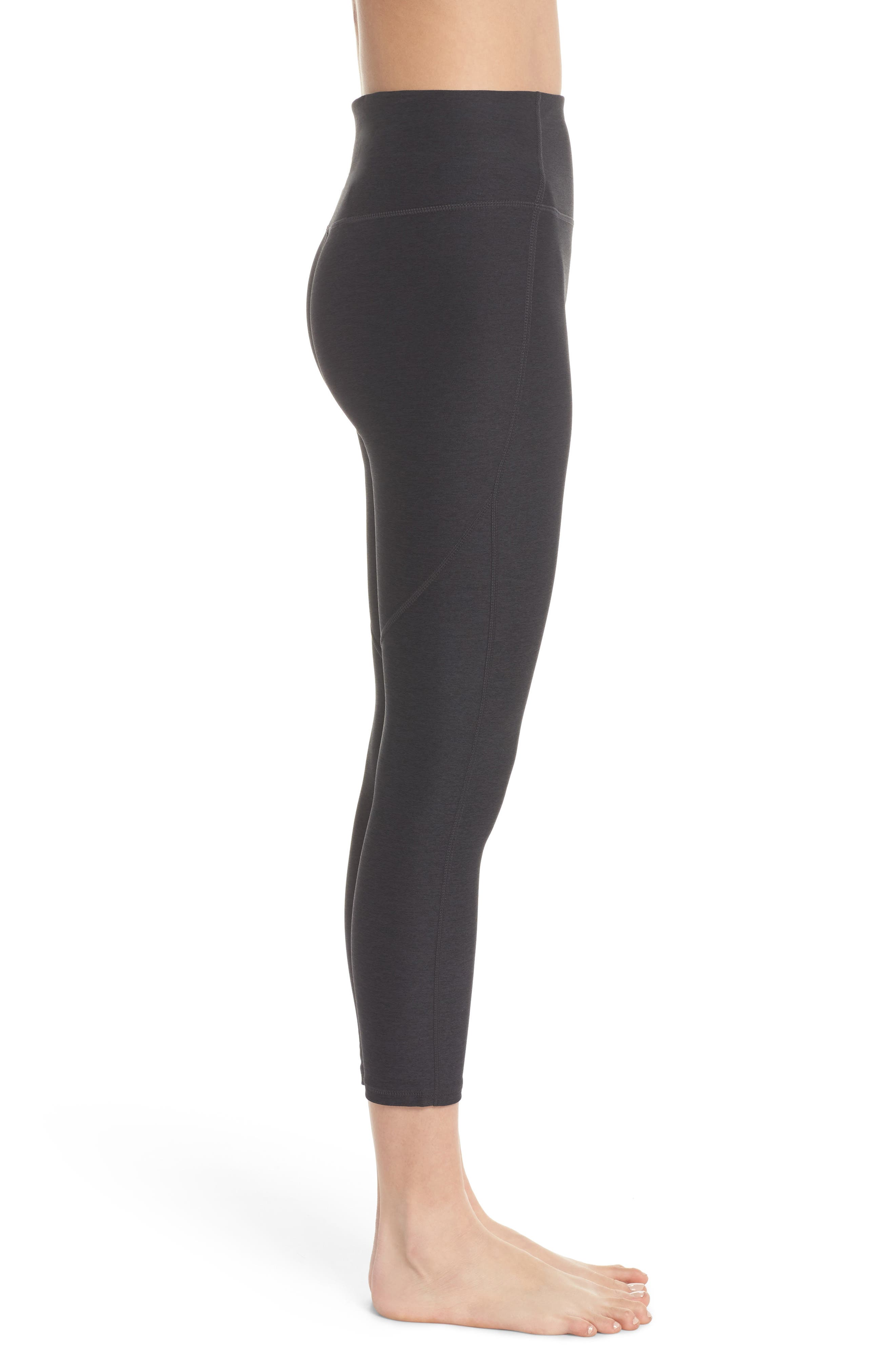 VARLEY,                             Everett High Waist Crop Tights,                             Alternate thumbnail 3, color,                             020