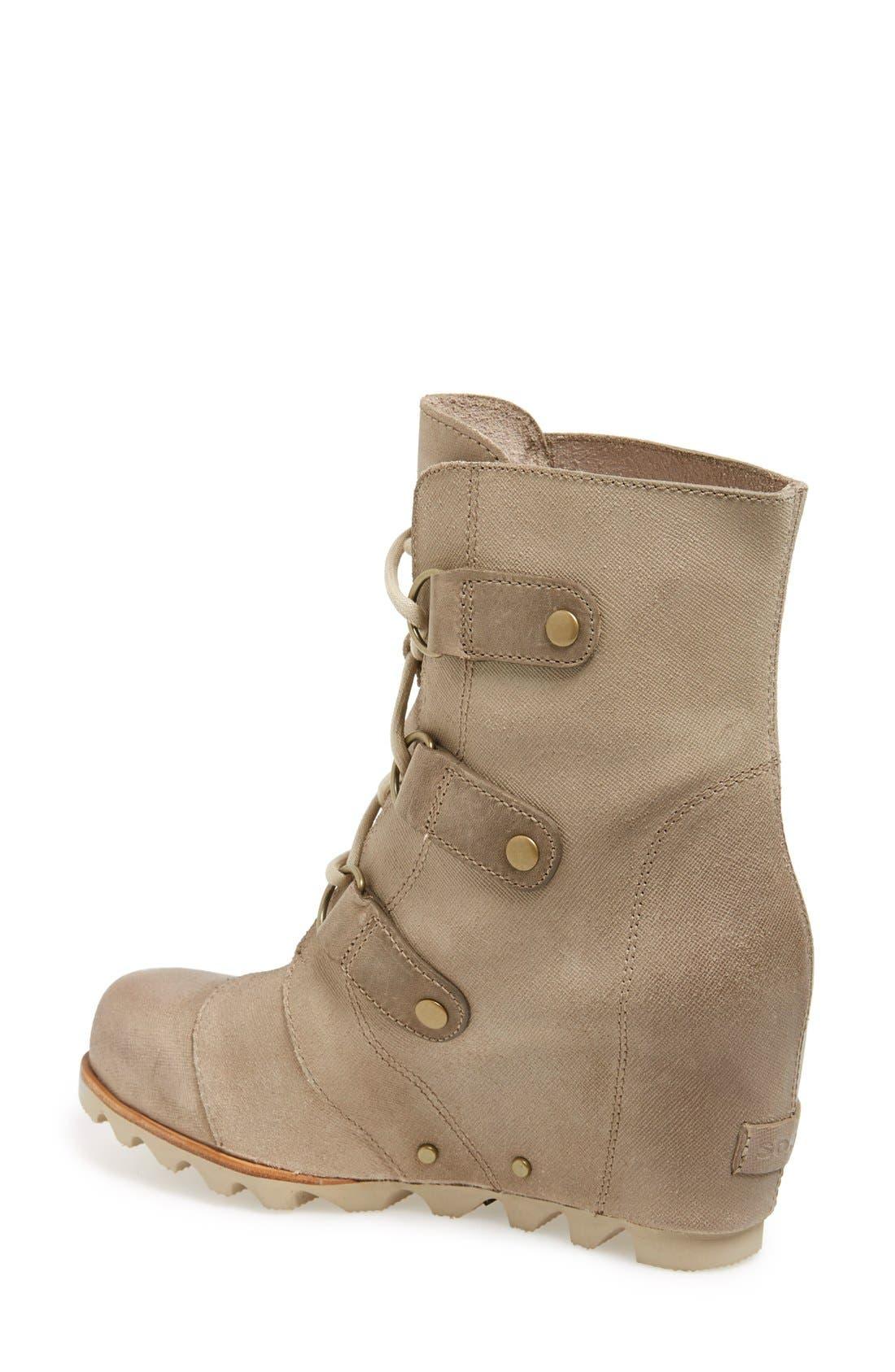 'Joan of Arctic' Waterproof Wedge Boot,                             Alternate thumbnail 15, color,