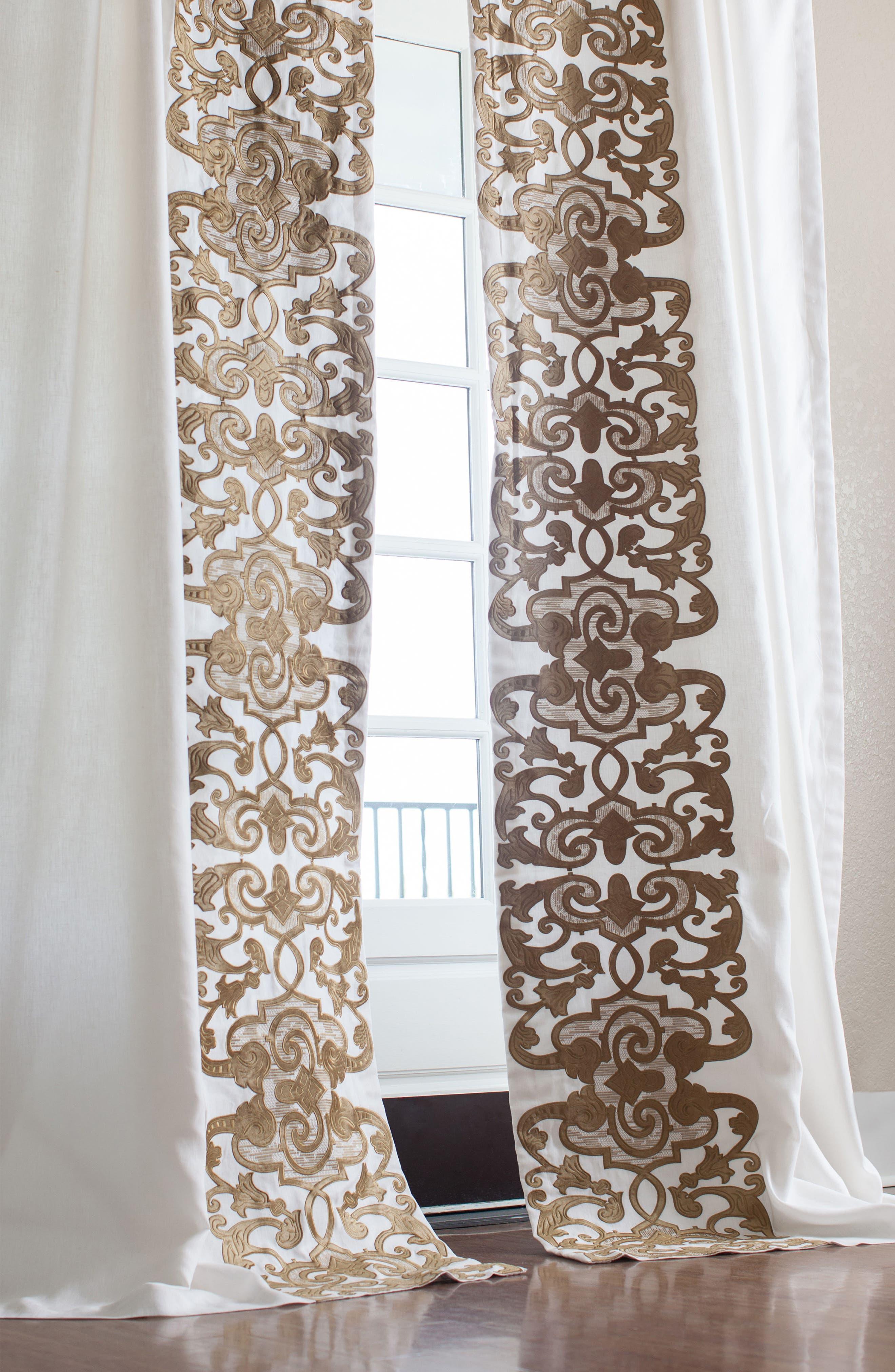 Mozart Window Panels,                         Main,                         color, 100