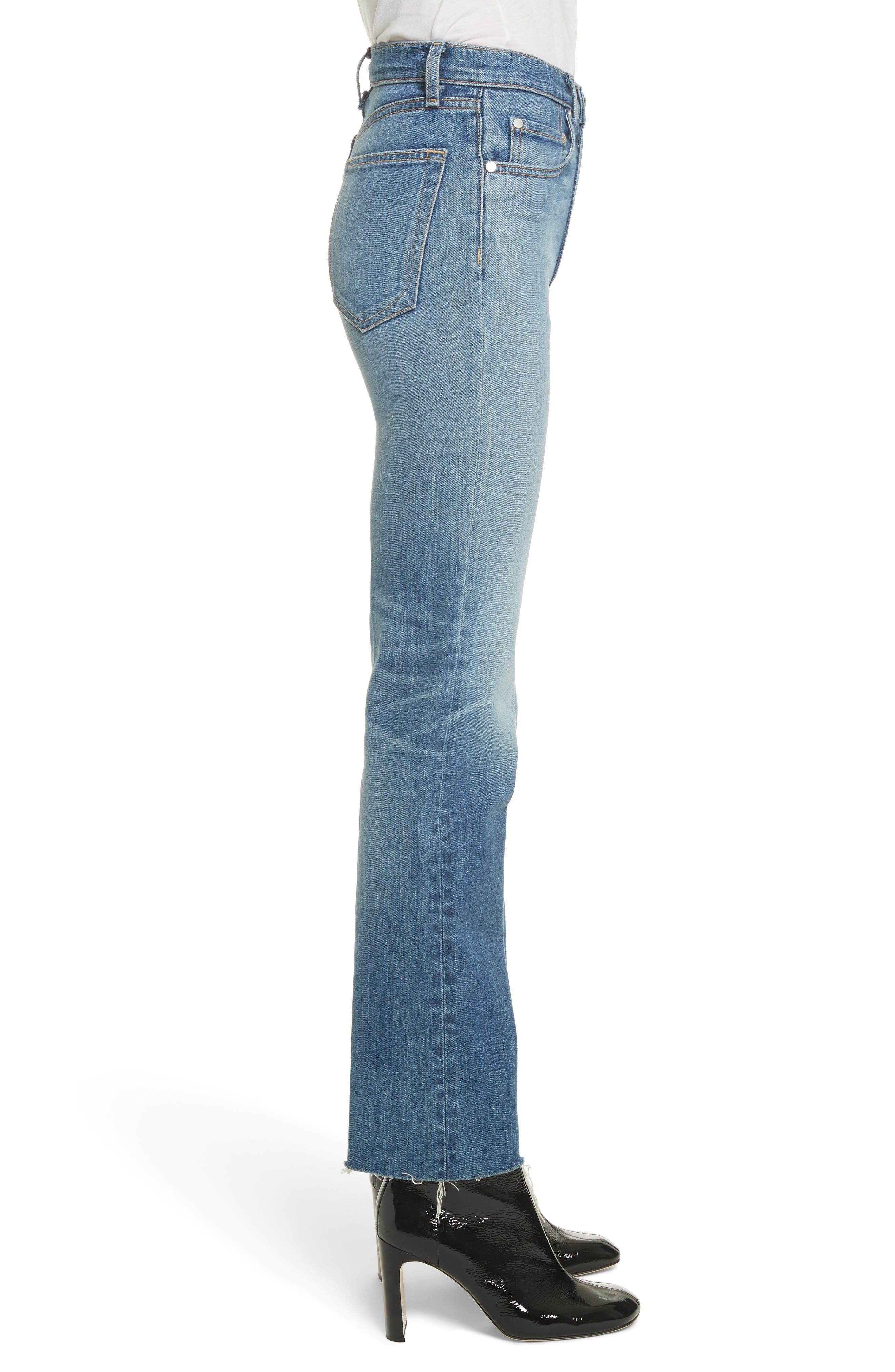 Straight Leg Jeans,                             Alternate thumbnail 3, color,                             420
