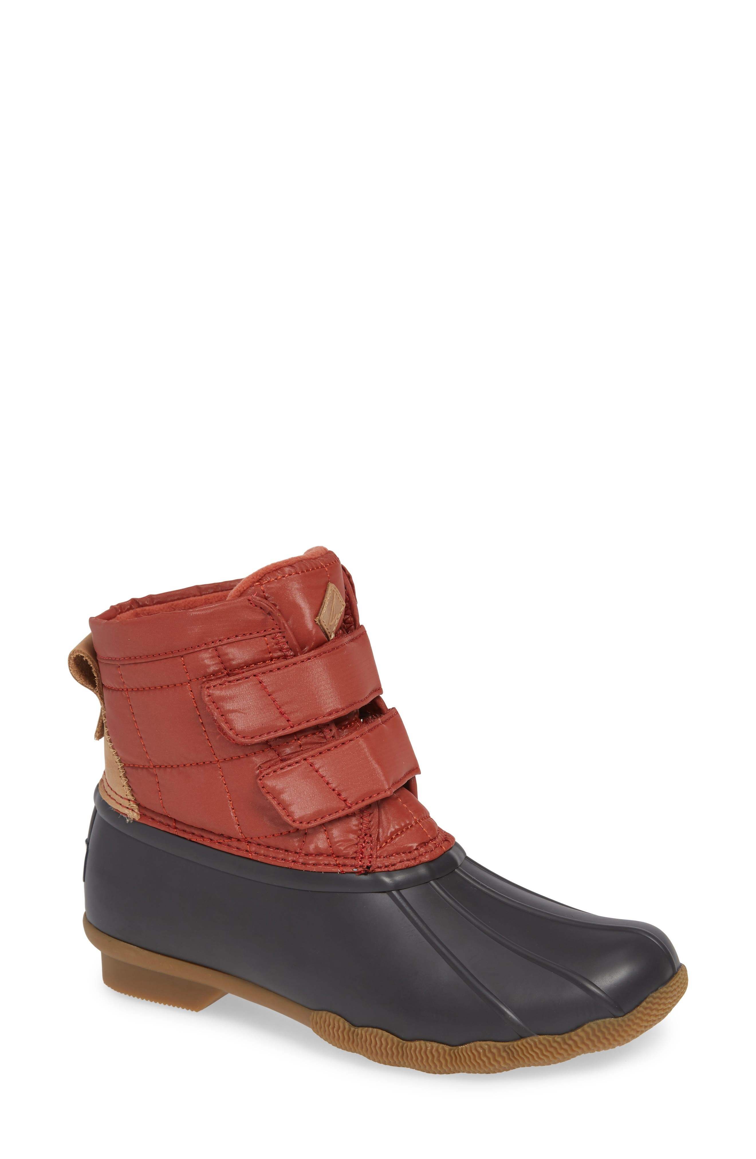 Saltwater Jetty Rain Boot,                         Main,                         color, 600