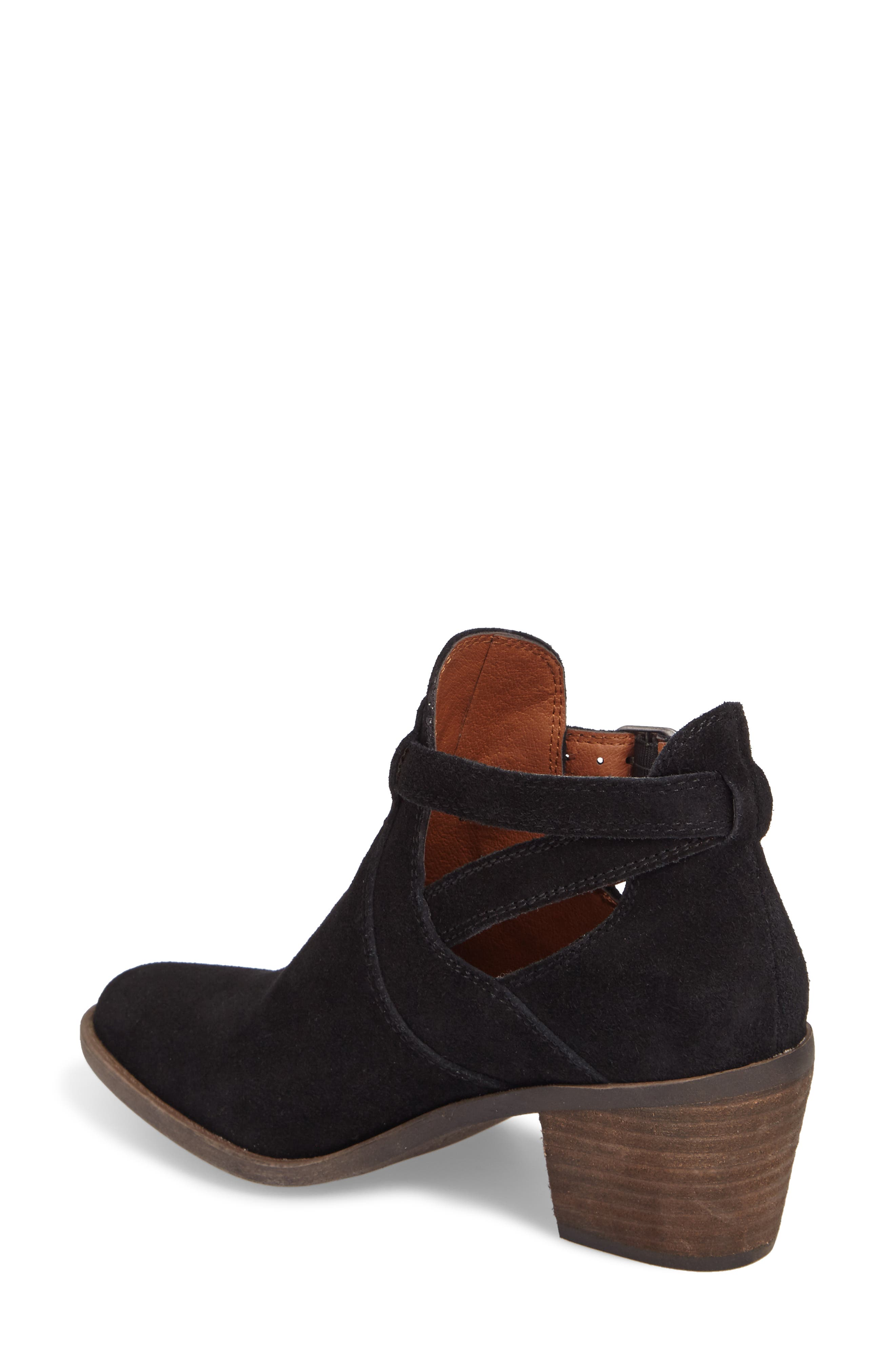 Nandita Cutout Bootie,                             Alternate thumbnail 2, color,                             001