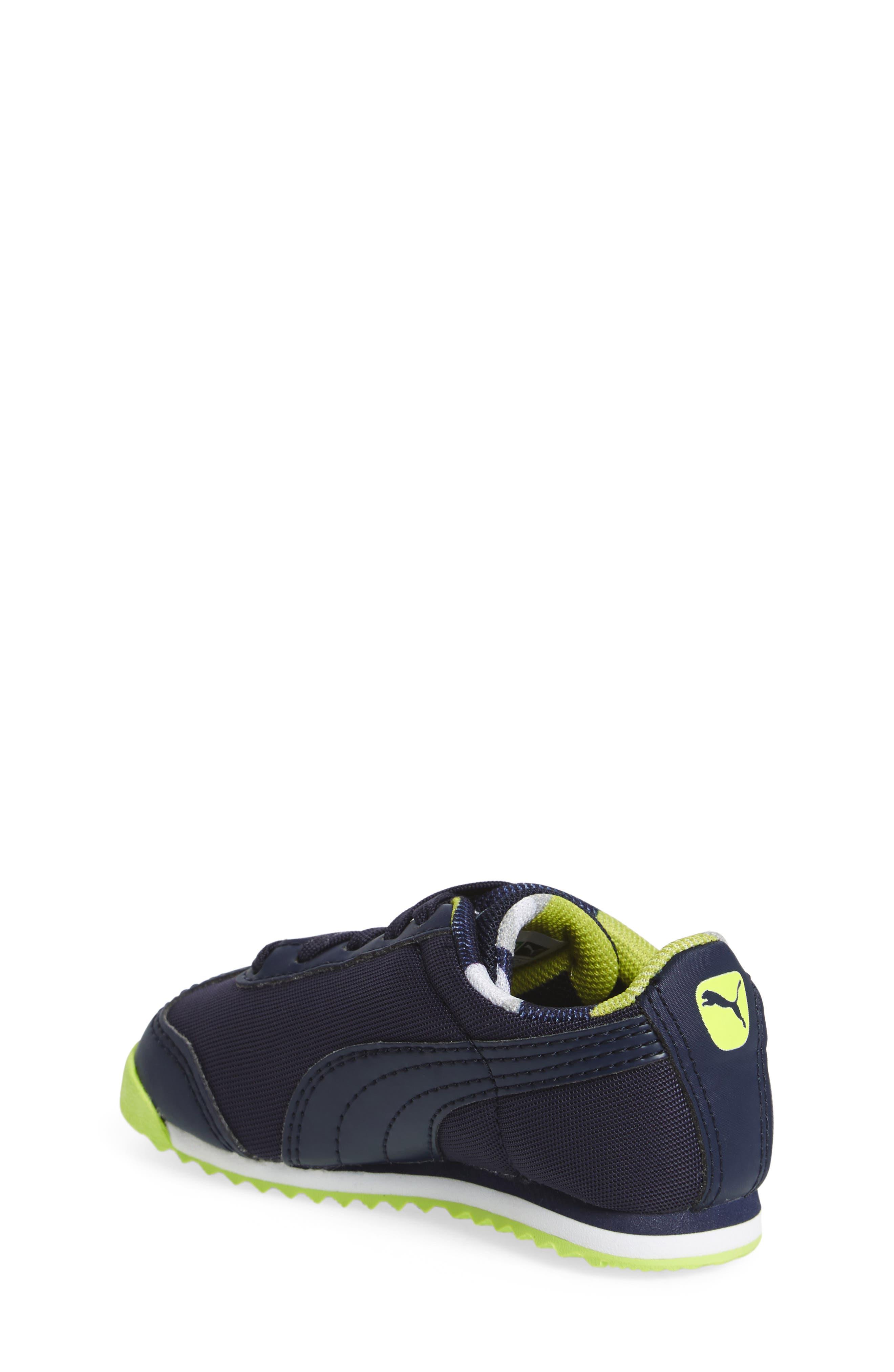 Roma Basic Sneaker,                             Alternate thumbnail 4, color,