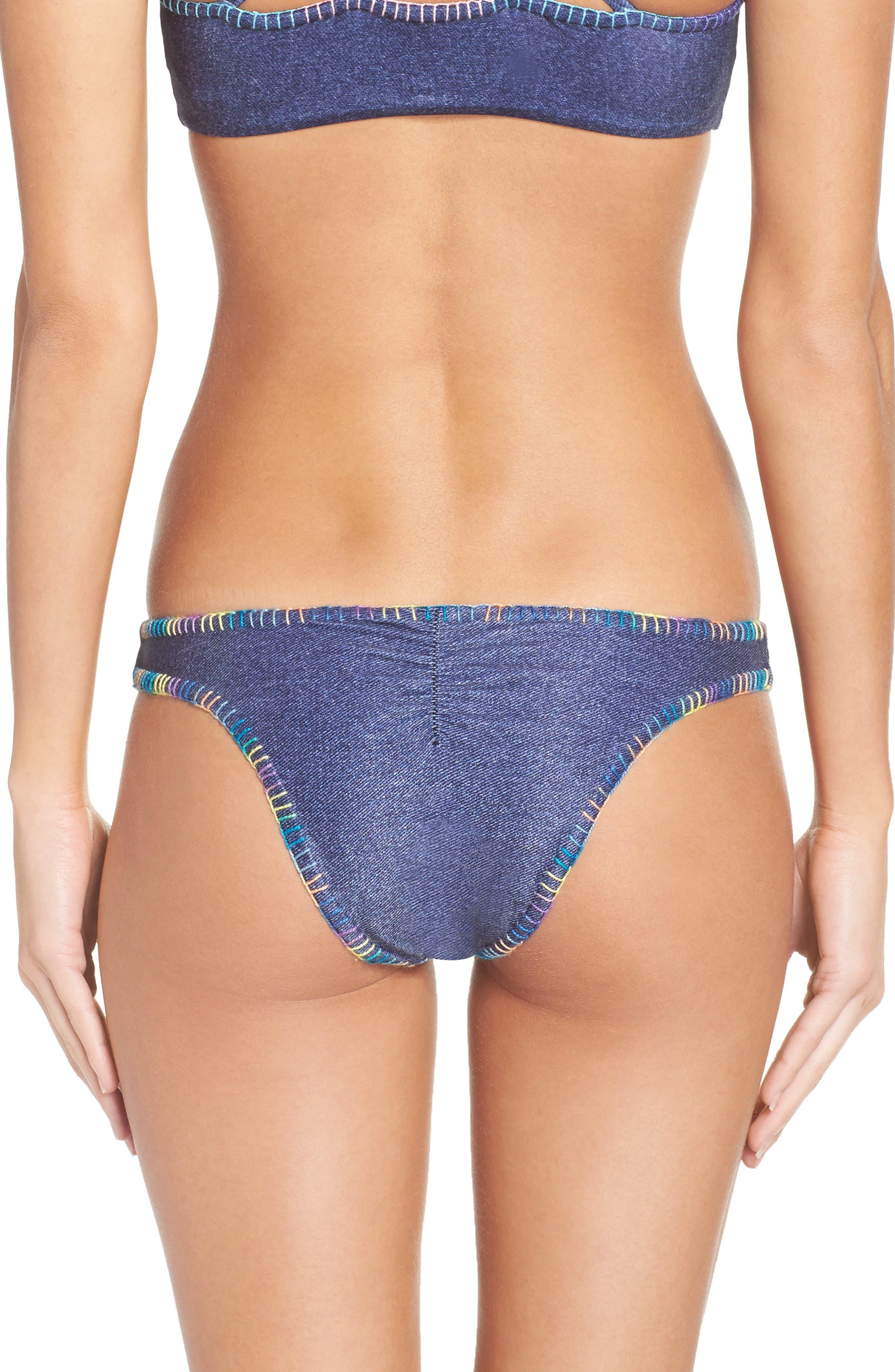 Reversible Bikini Bottoms,                             Alternate thumbnail 3, color,                             416