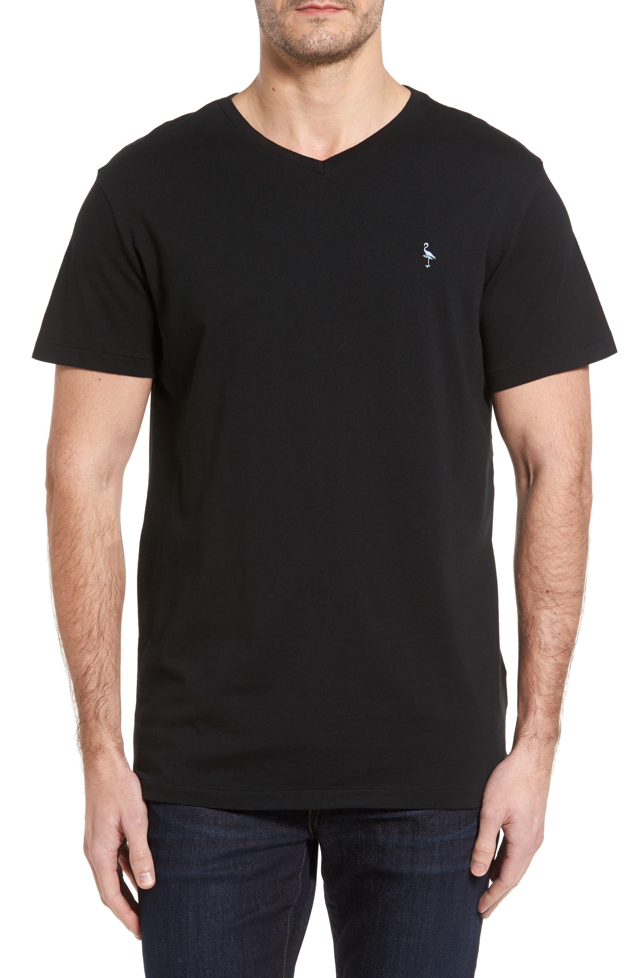 V-Neck T-Shirt,                             Main thumbnail 1, color,                             002
