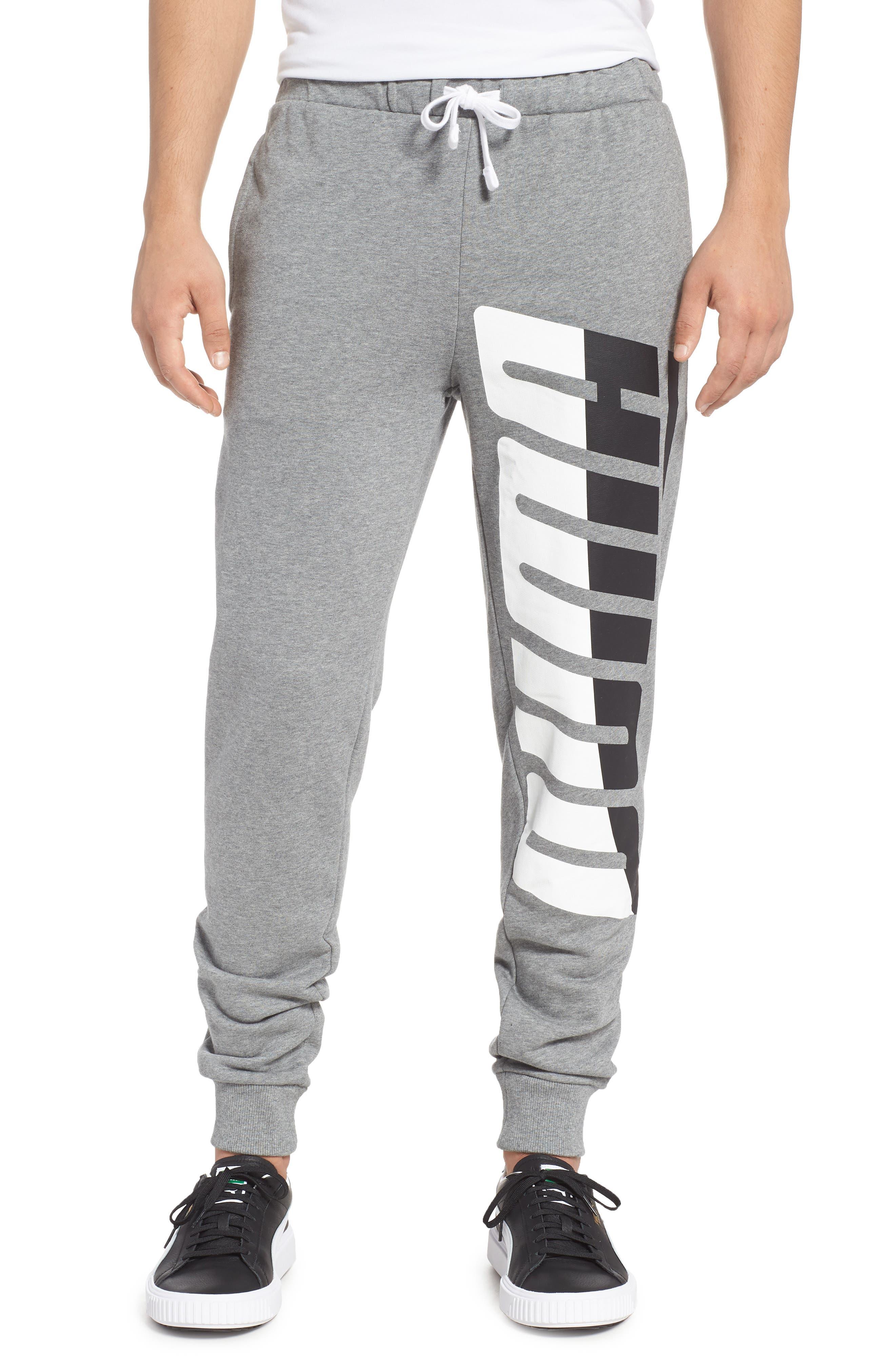 Loud Pack Cotton Sweatpants,                         Main,                         color, MEDIUM GRAY HEATHER