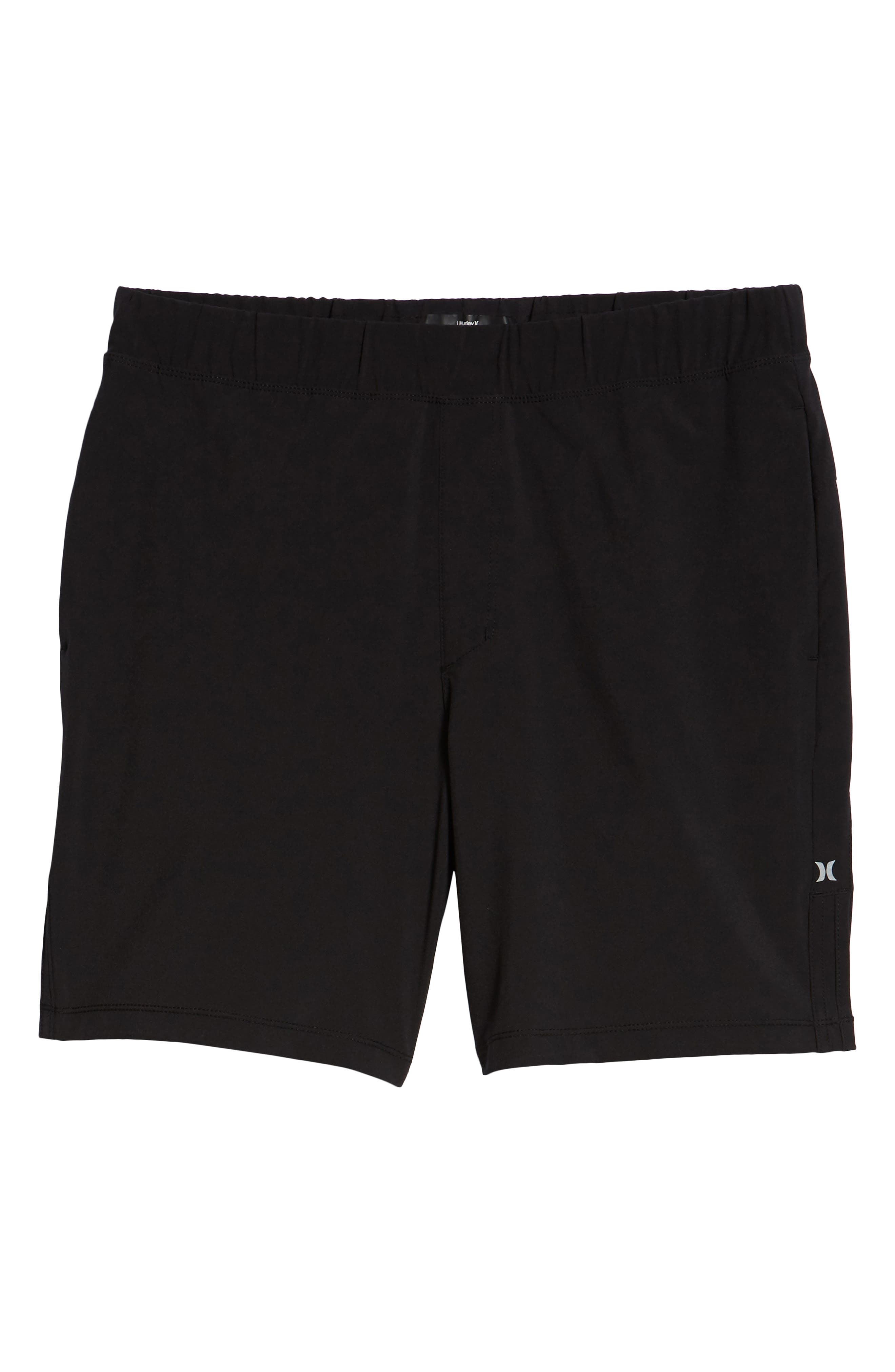 Alpha Trainer 2.0 Recycled Polyester Shorts,                             Alternate thumbnail 6, color,                             BLACK