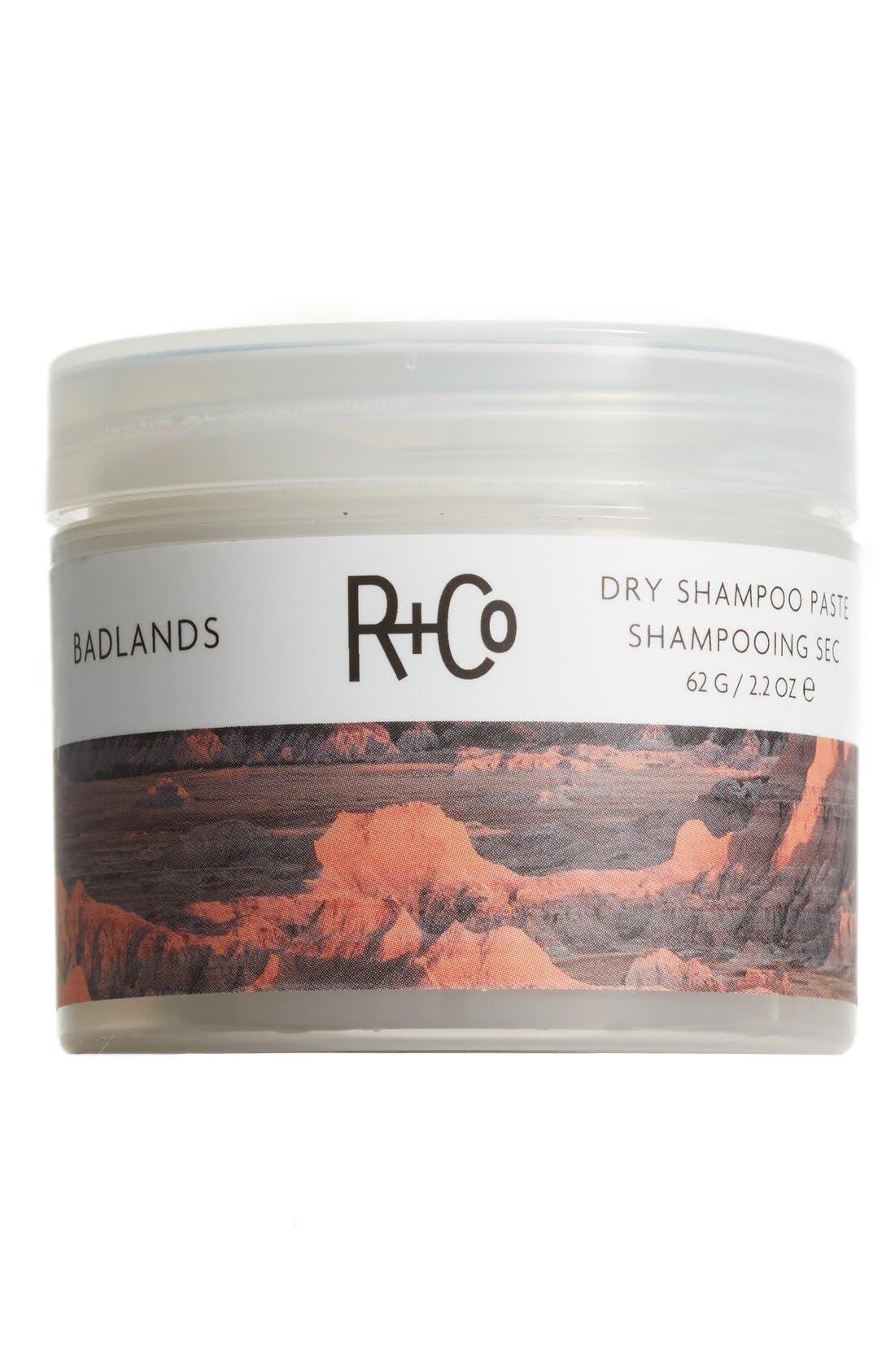 R+CO,                             SPACE.NK.apothecary R+Co Badlands Dry Shampoo Paste,                             Main thumbnail 1, color,                             NO COLOR