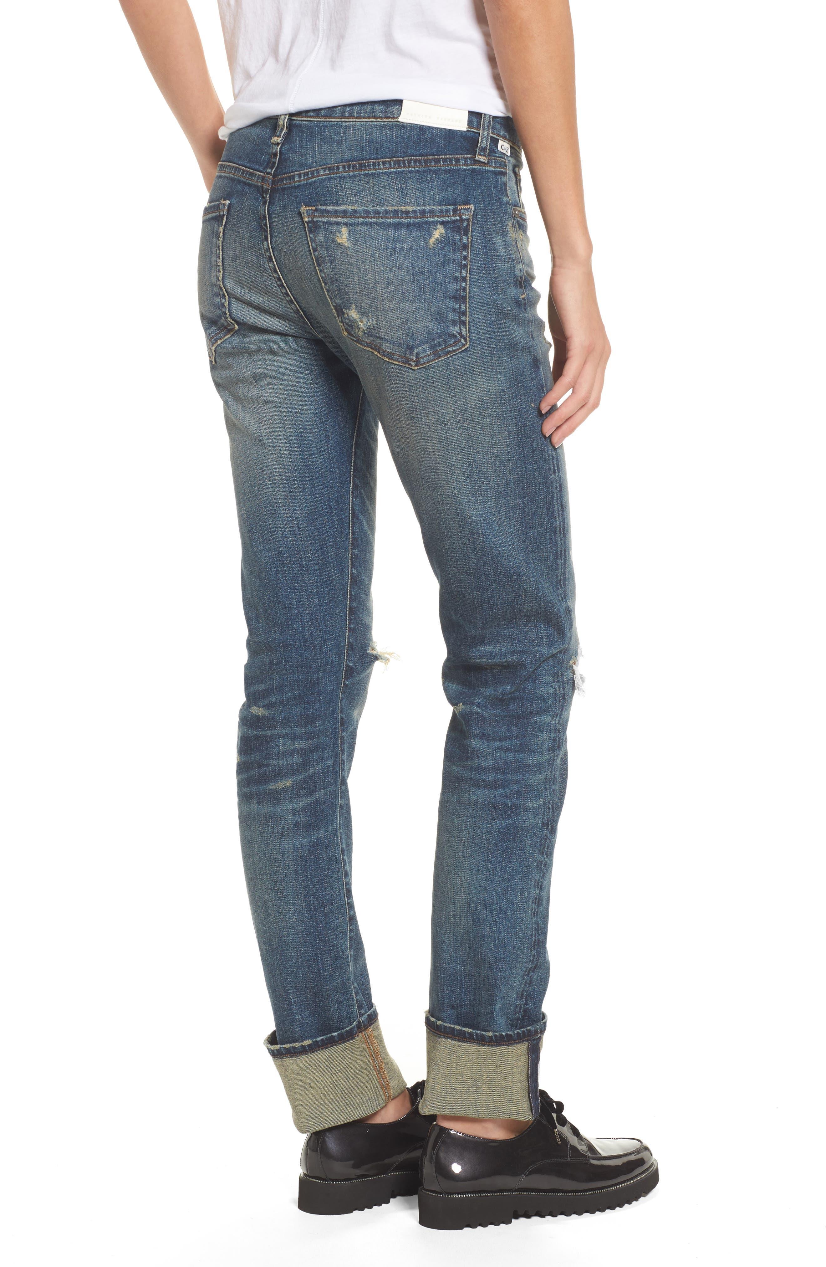 Agnes Long Jeans,                             Alternate thumbnail 2, color,