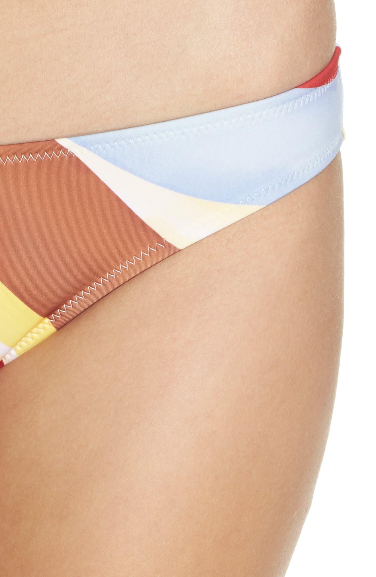Elle Bikini Bottoms,                             Alternate thumbnail 4, color,                             408