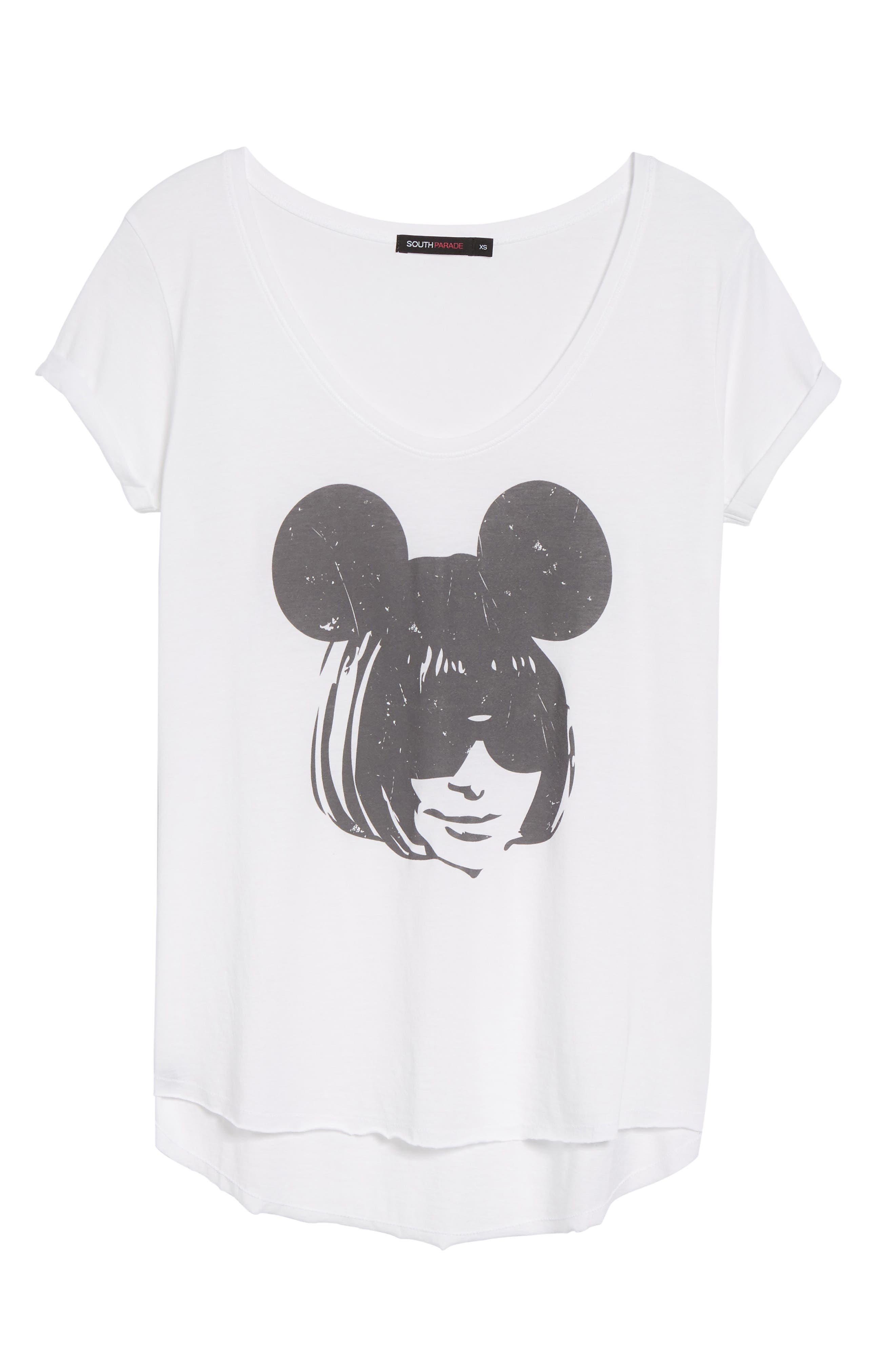 Anna Mouse Tee,                             Alternate thumbnail 6, color,                             100