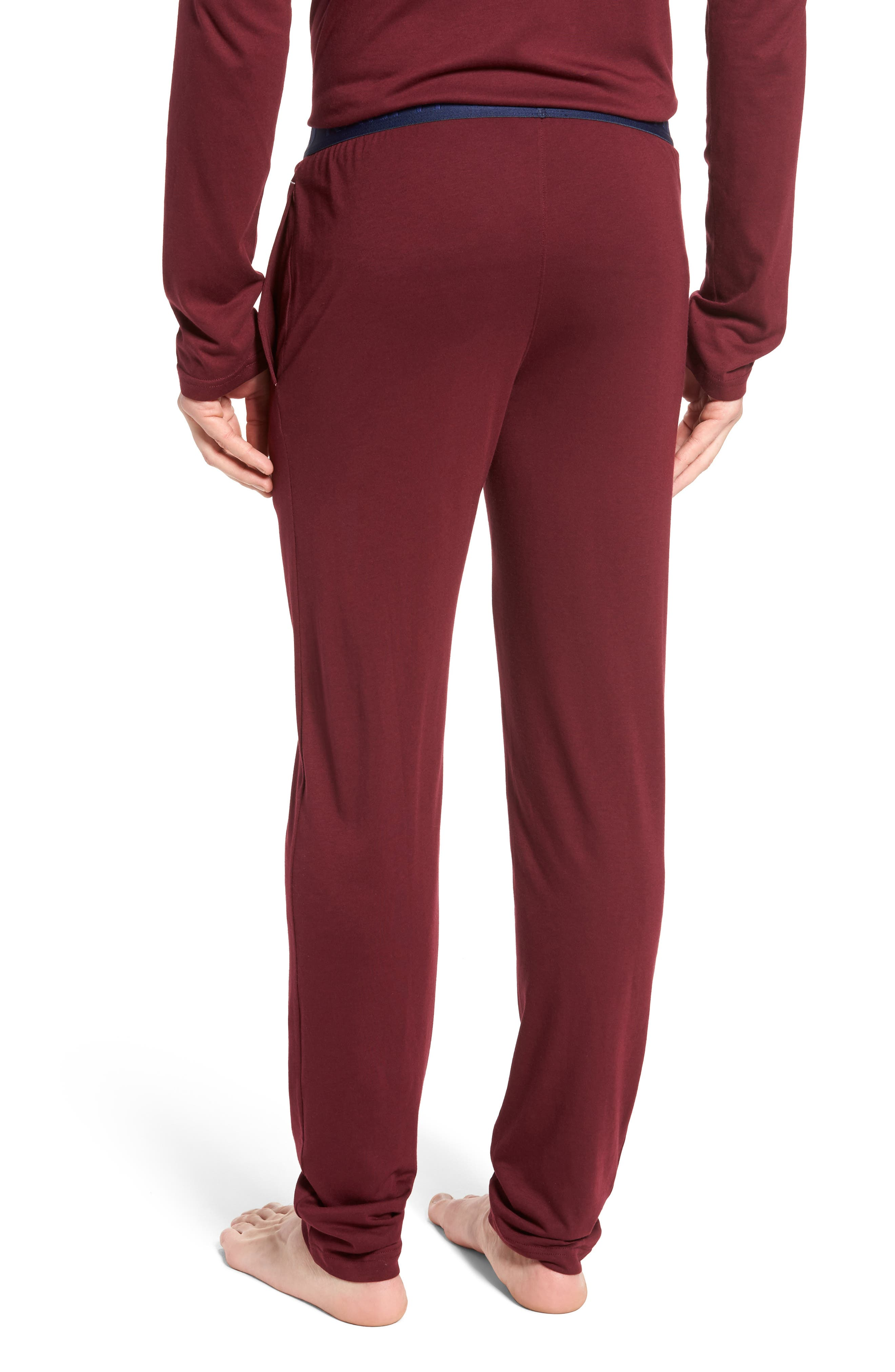 Cotton & Modal Lounge Pants,                             Alternate thumbnail 6, color,