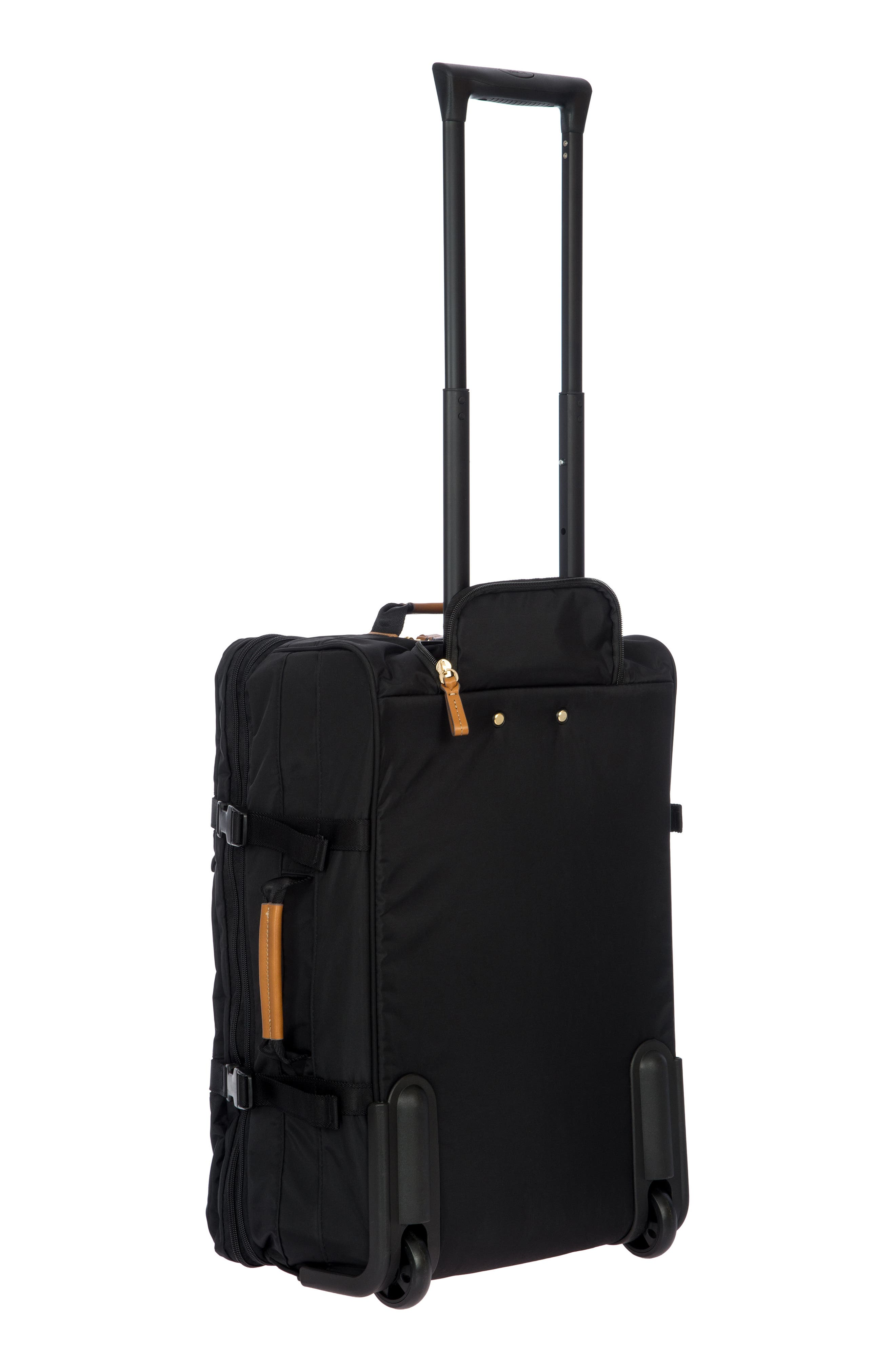 Montagna 21-Inch Wheeled Carry-On,                             Alternate thumbnail 4, color,                             BLACK