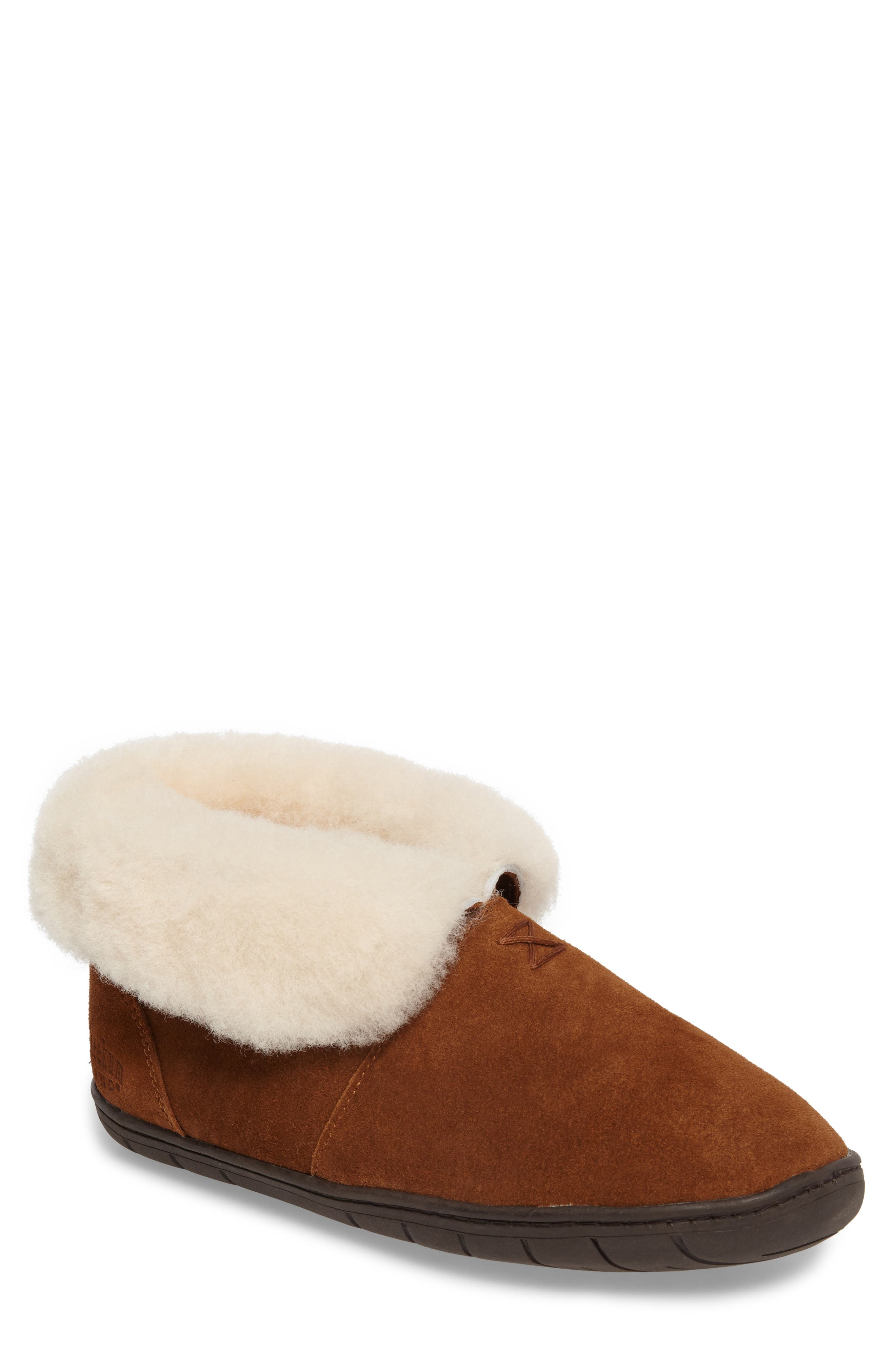 Tundra Slipper Bootie with Genuine Shearling Lining,                             Main thumbnail 1, color,                             212