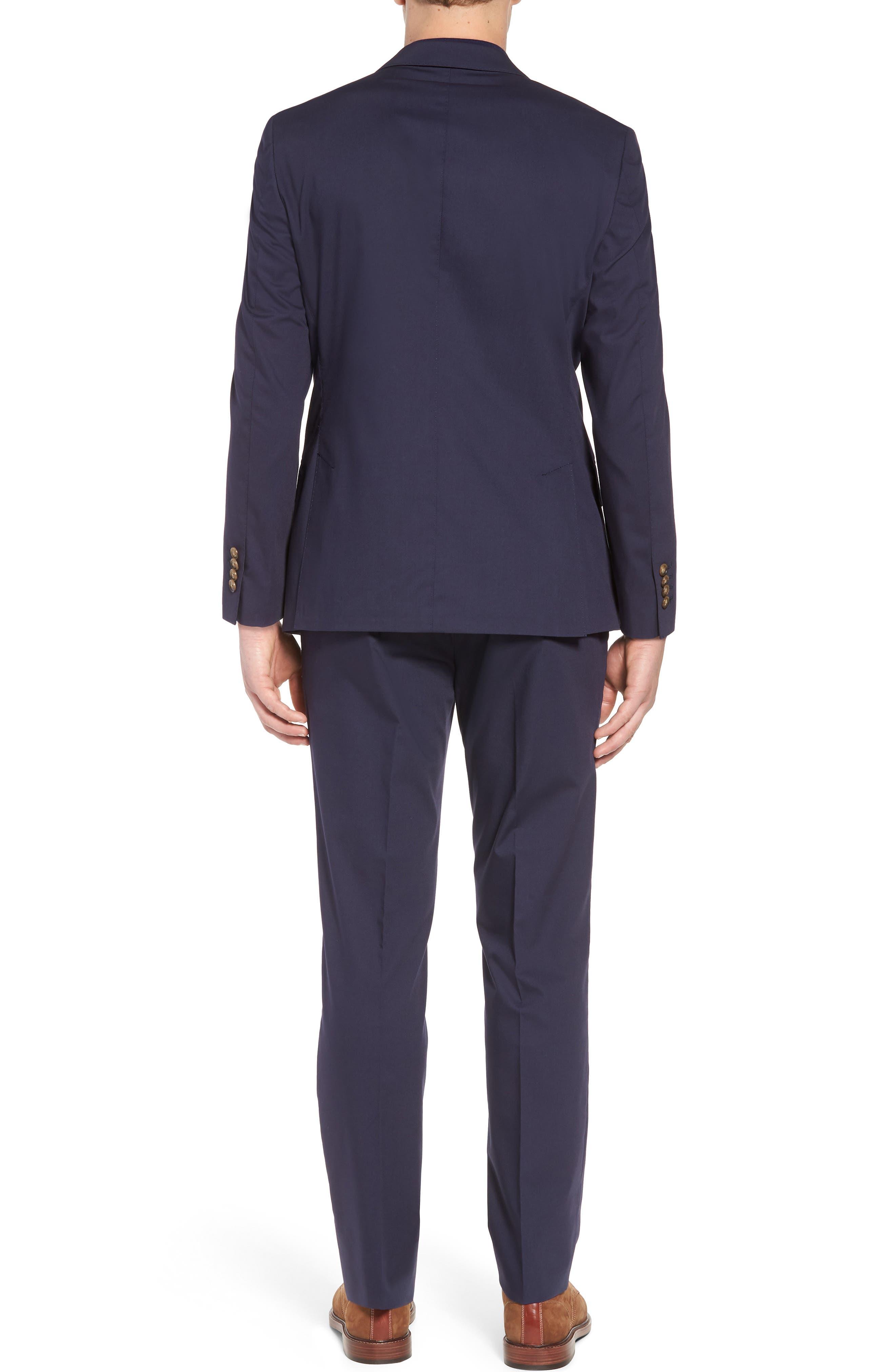 Irons AIM Classic Fit Solid Cotton Blend Suit,                             Alternate thumbnail 2, color,                             410