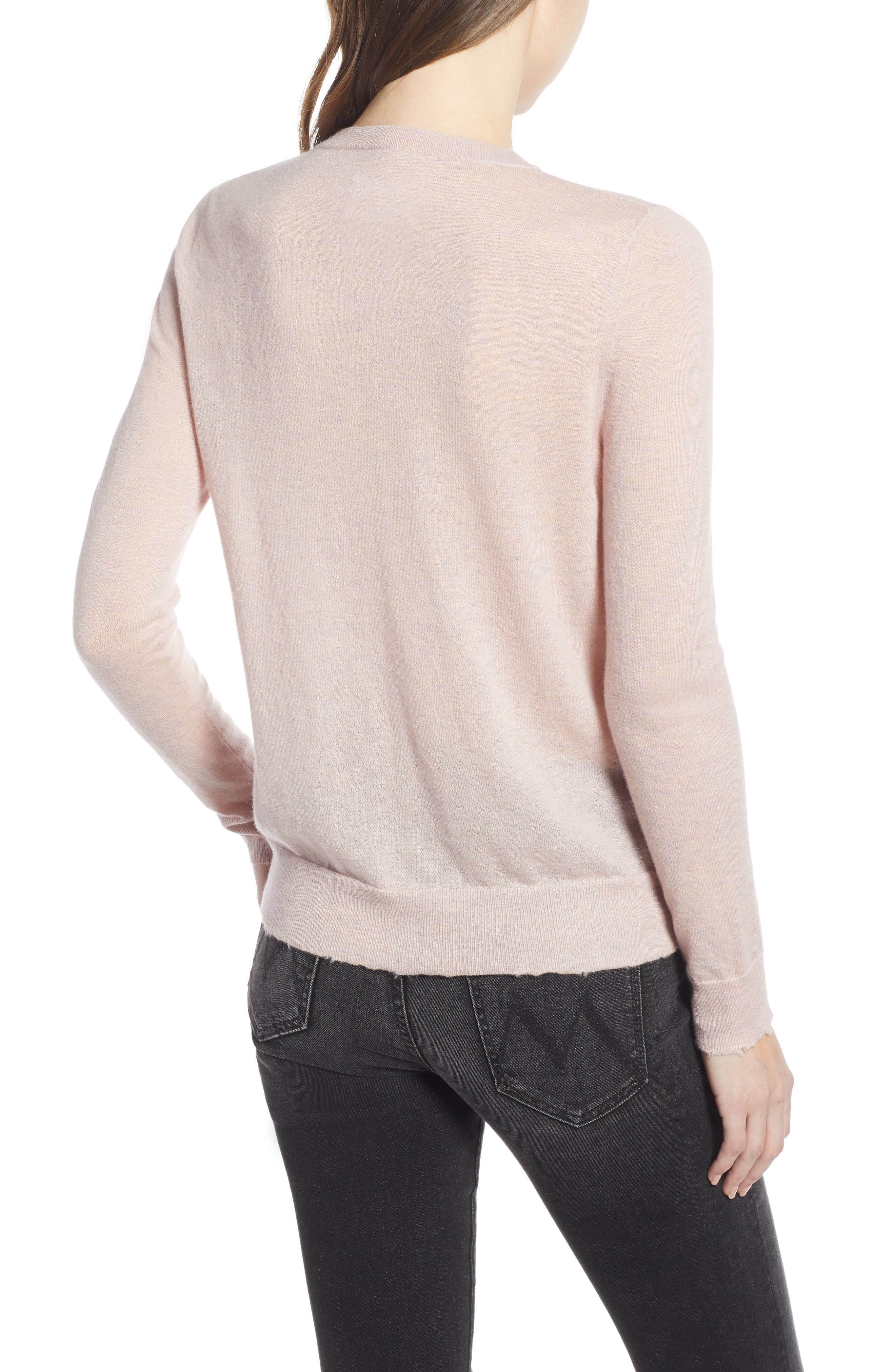 Miss CP Skull Cashmere Sweater,                             Alternate thumbnail 2, color,                             TUTU