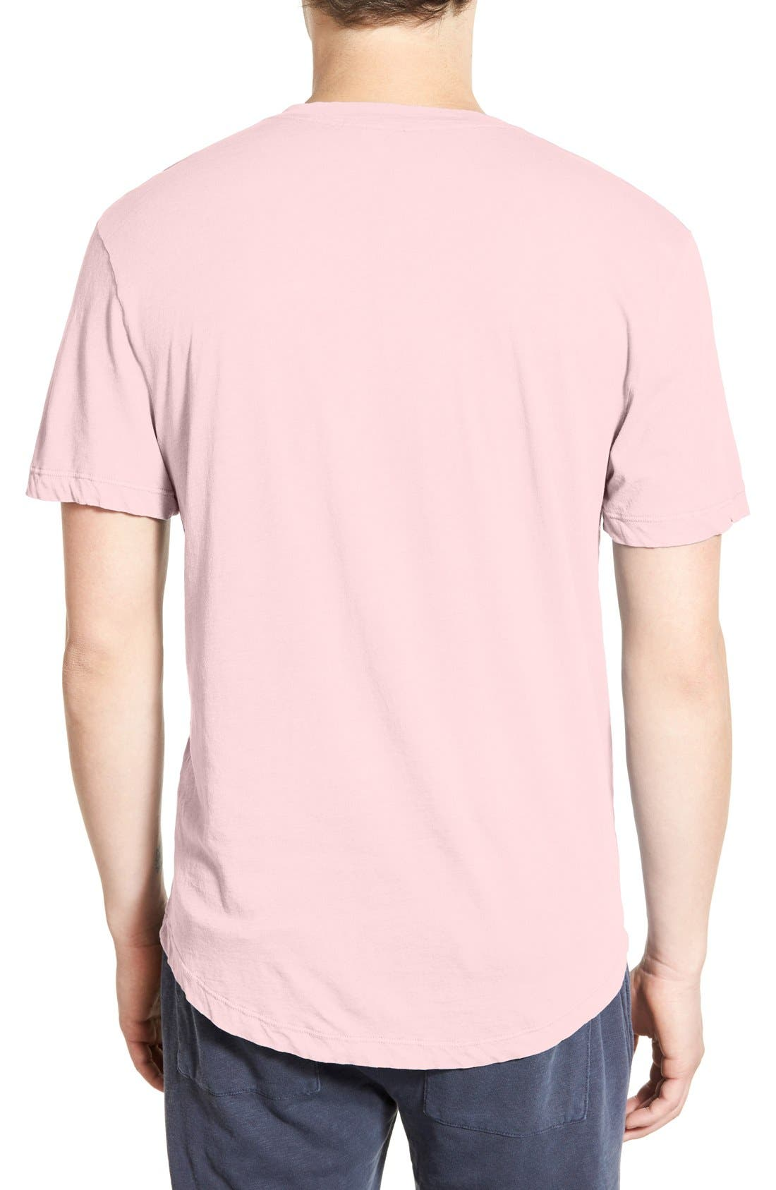 'Clear Jersey' Mélange V-Neck T-Shirt,                             Alternate thumbnail 20, color,