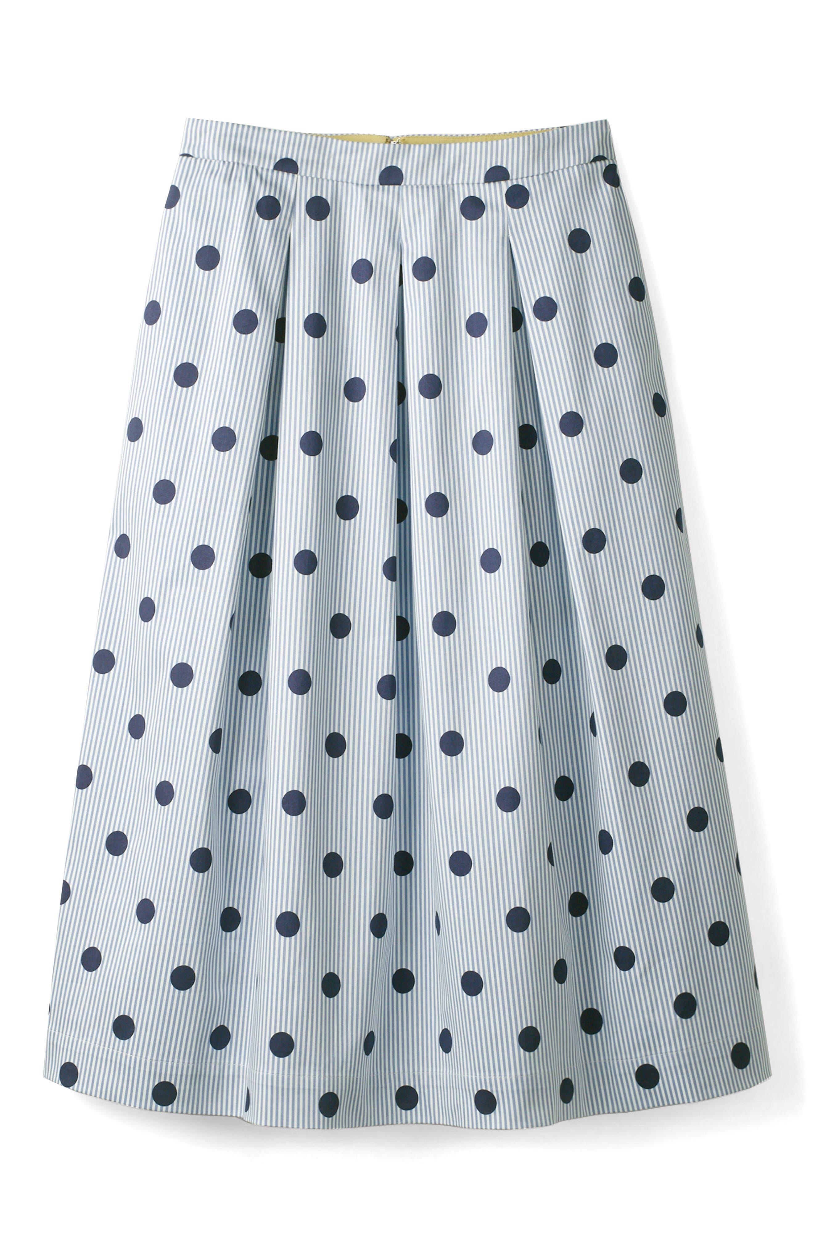 Lola Floral Flared Skirt,                             Alternate thumbnail 17, color,