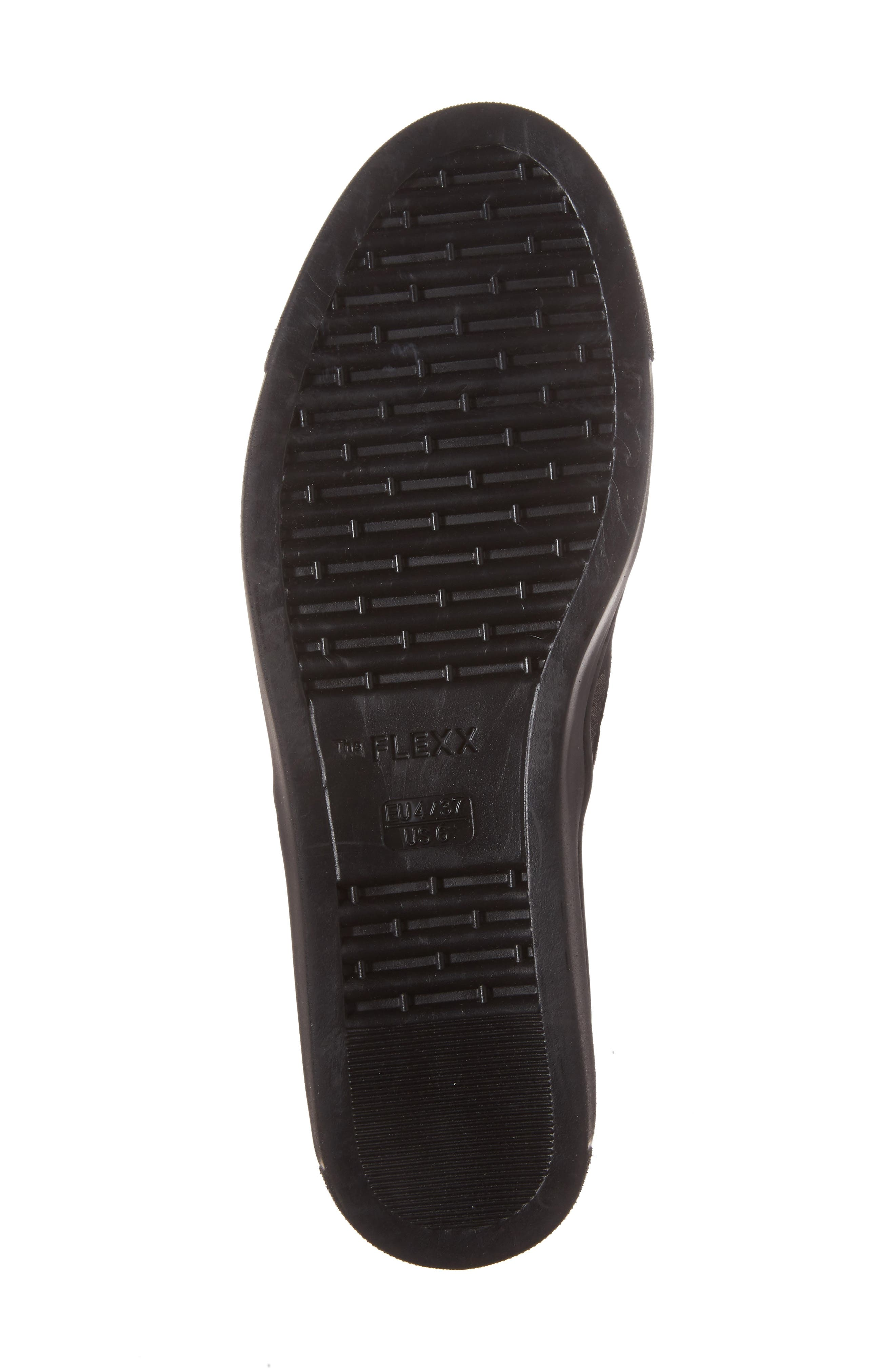 Full Time Sneaker,                             Alternate thumbnail 6, color,                             BLACK SUEDE