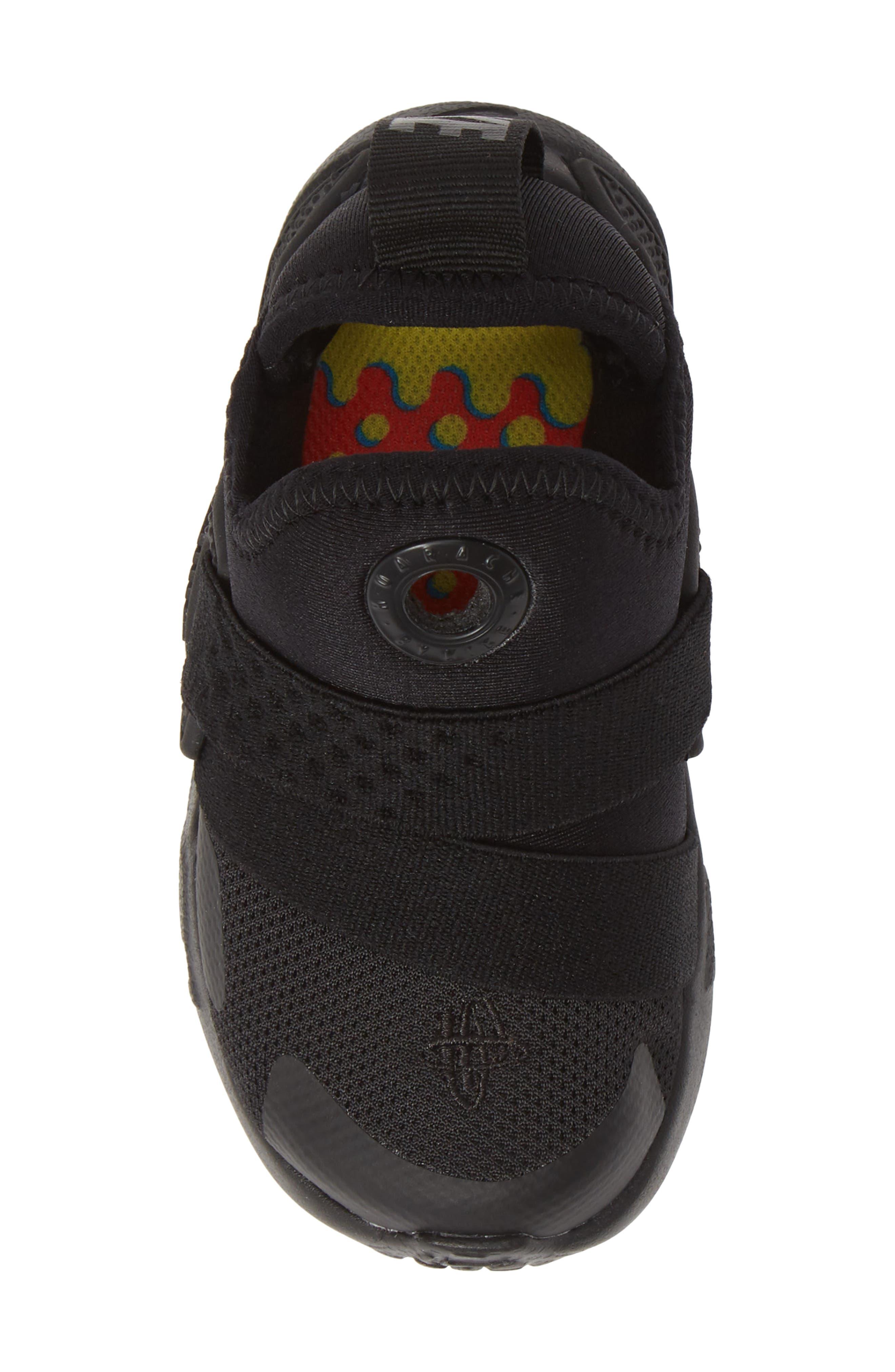Huarache Extreme Sneaker,                             Alternate thumbnail 5, color,                             BLACK/ BLACK-BLACK