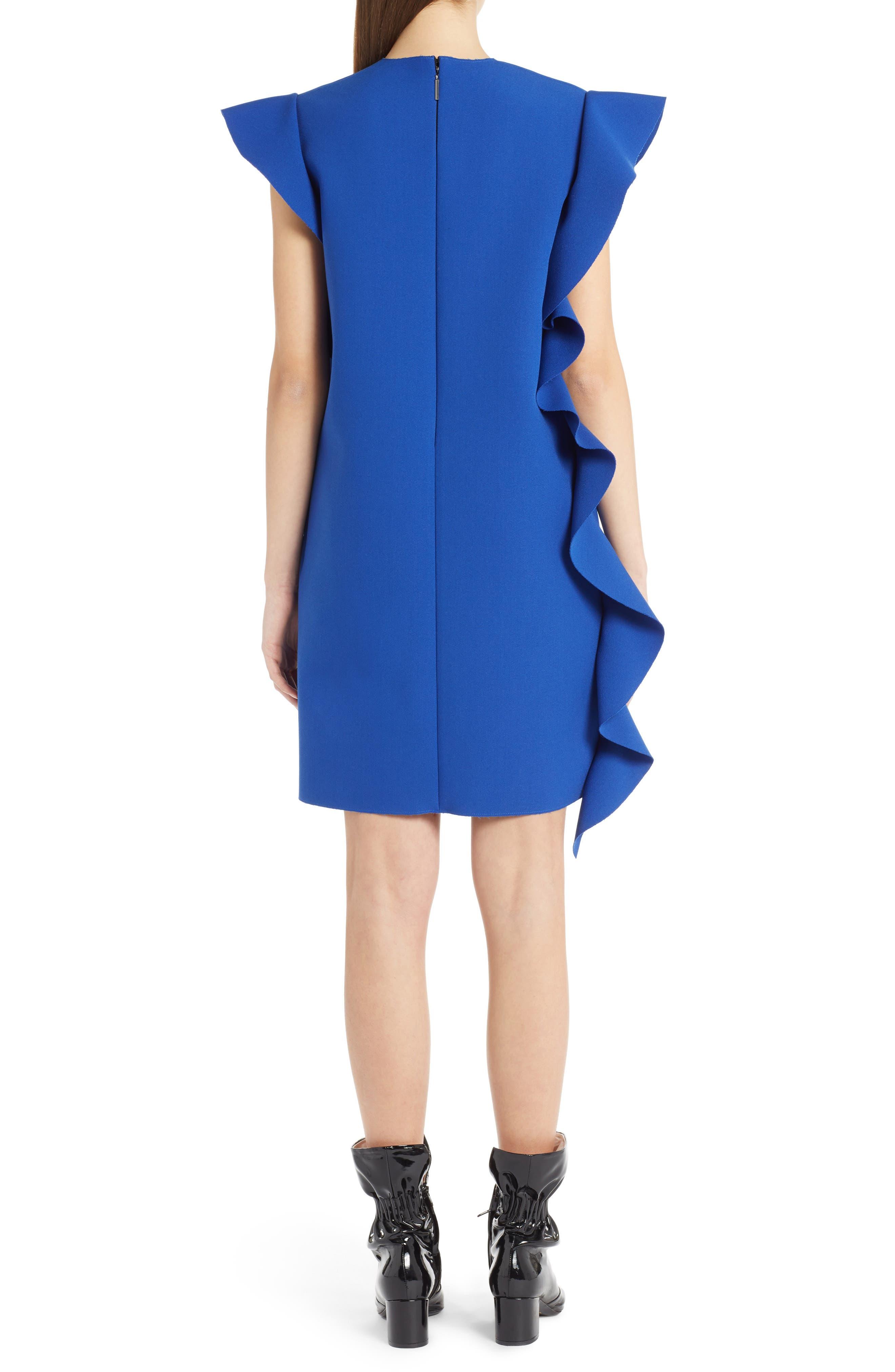 Ruffle Dress,                             Alternate thumbnail 2, color,                             400