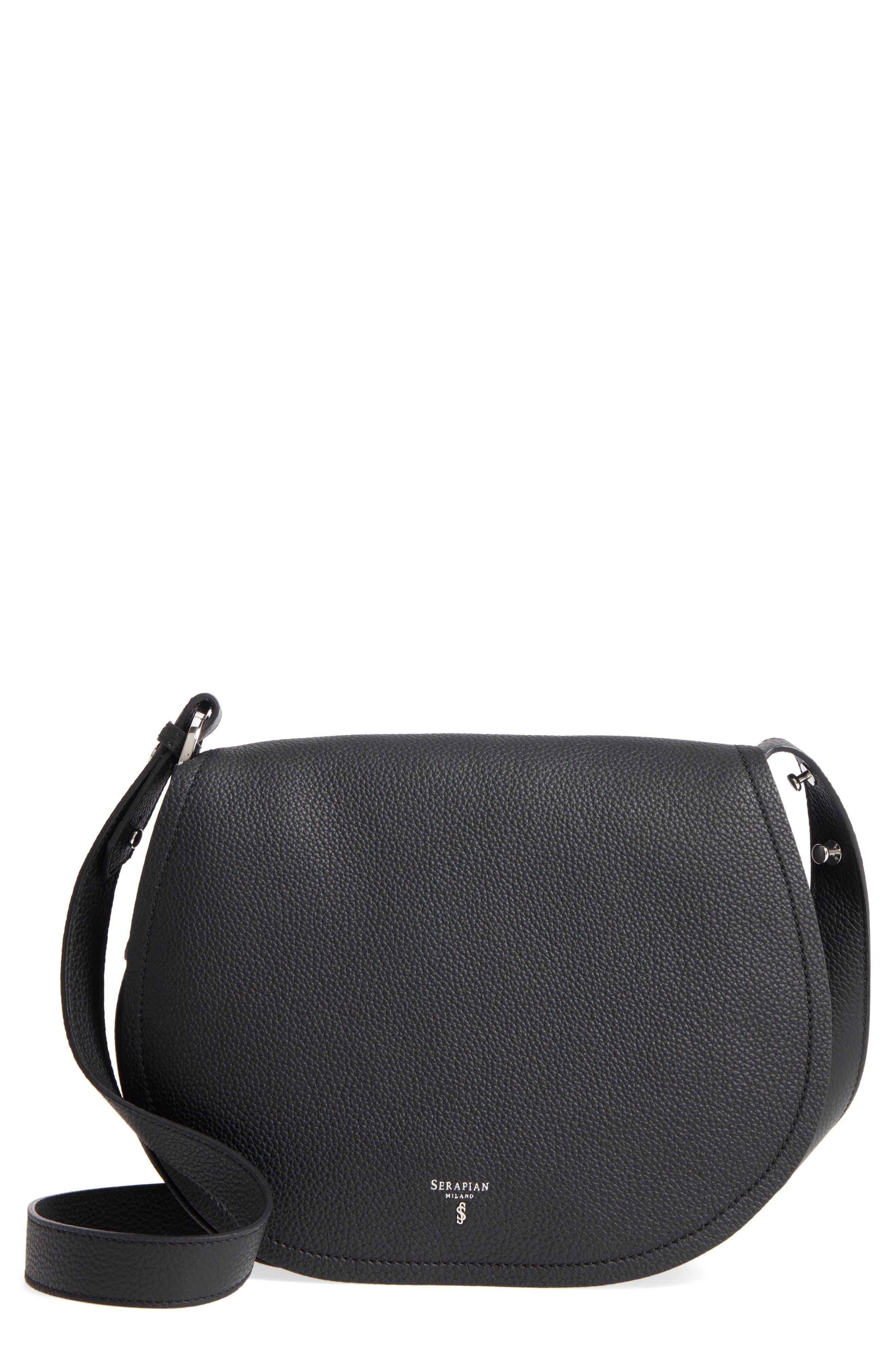 Small Valeria Leather Crossbody Bag,                             Main thumbnail 1, color,