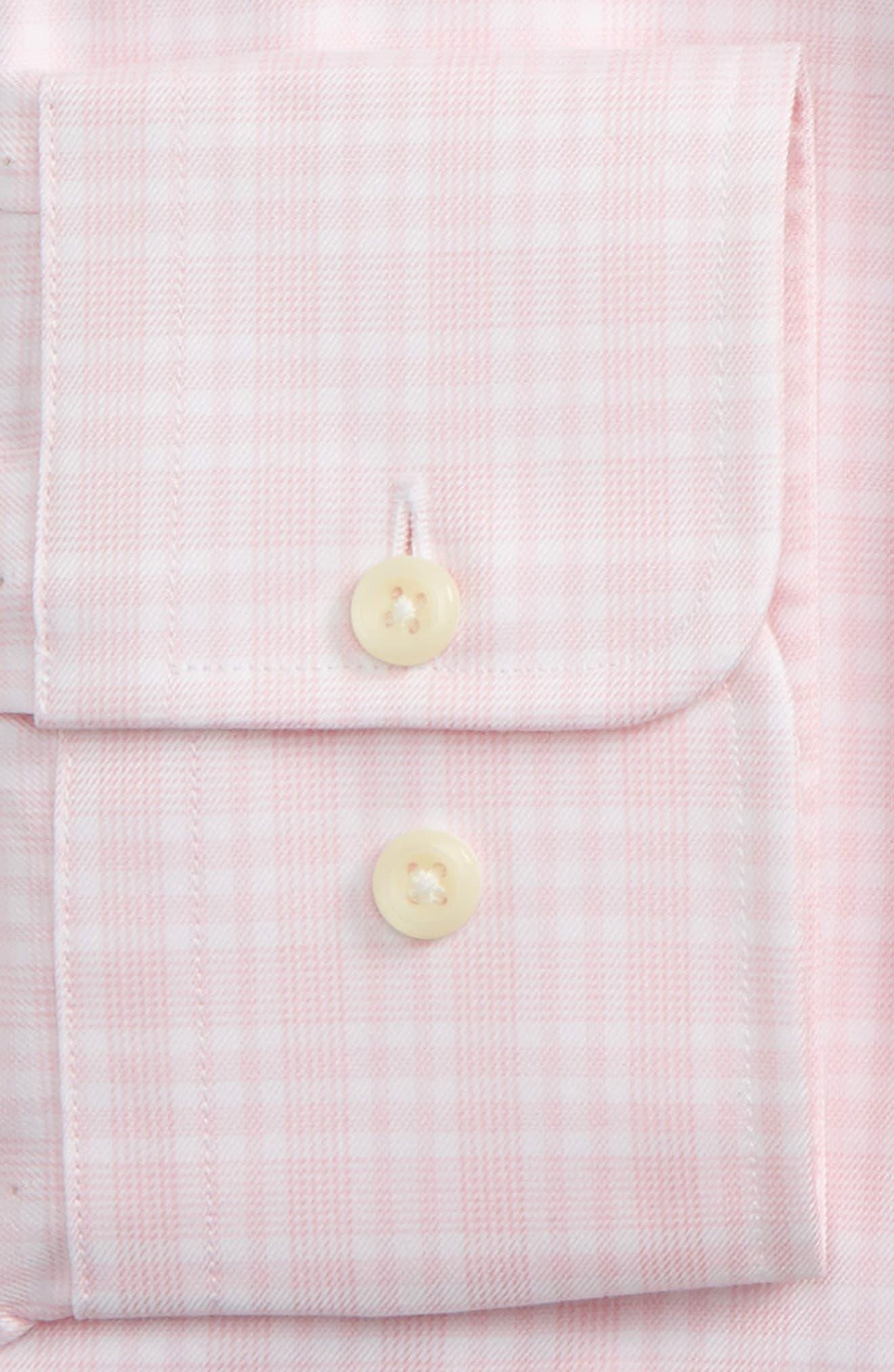 Regular Fit Plaid Dress Shirt,                             Alternate thumbnail 2, color,                             650