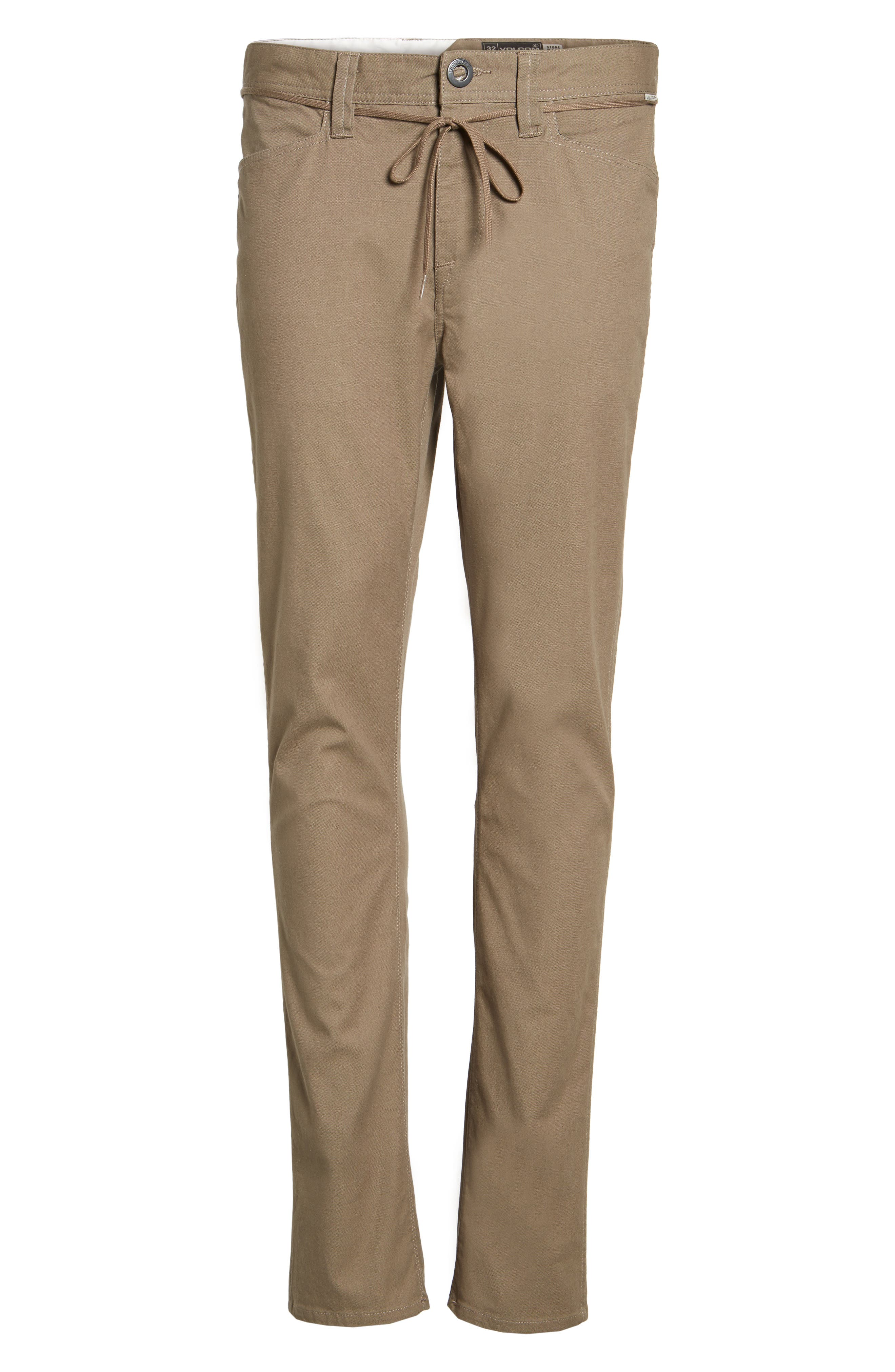 'VSM Gritter' Tapered Chinos,                             Alternate thumbnail 6, color,                             250