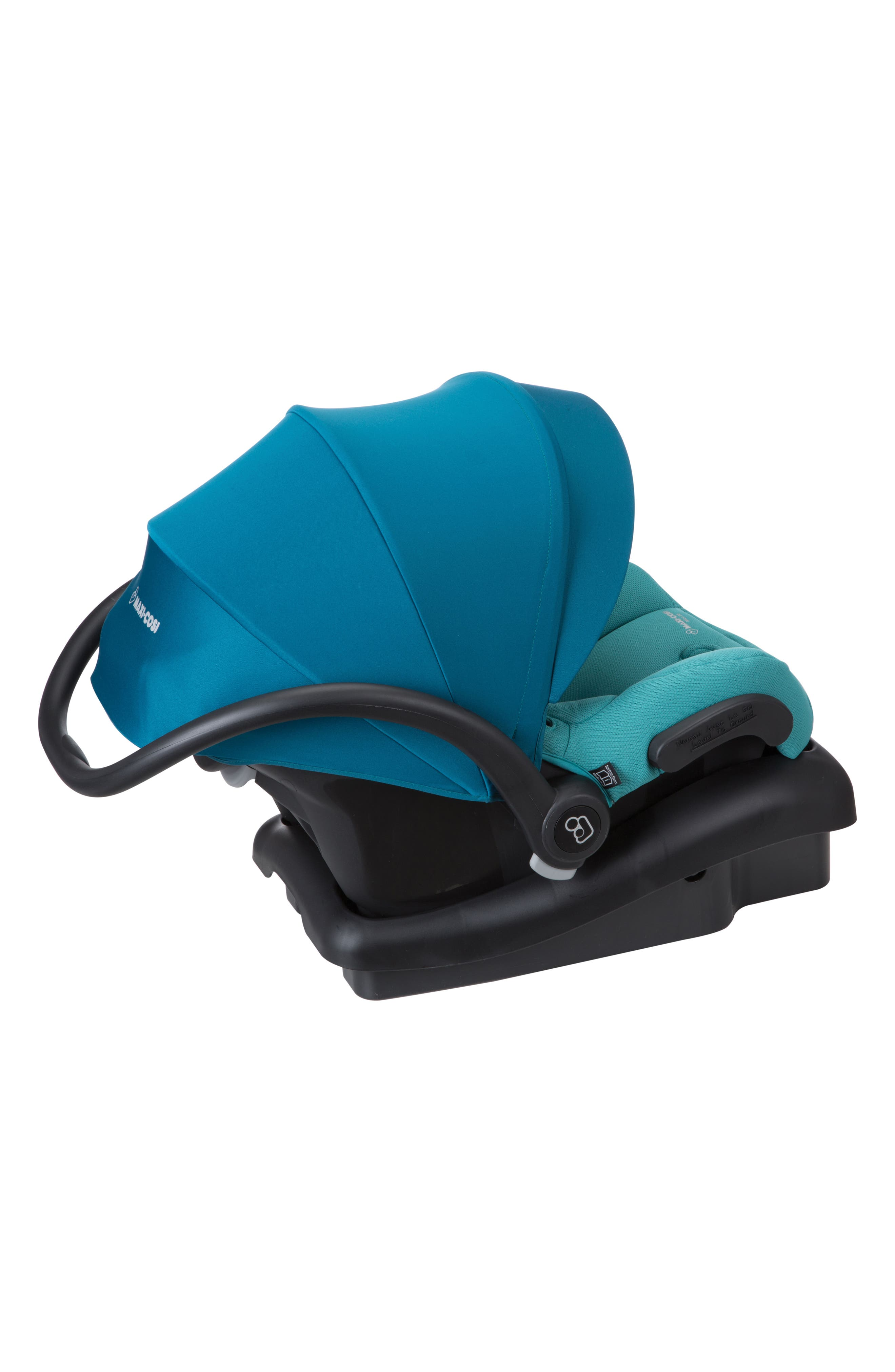 Mico 30 Infant Car Seat,                             Alternate thumbnail 5, color,                             EMERALD TIDE