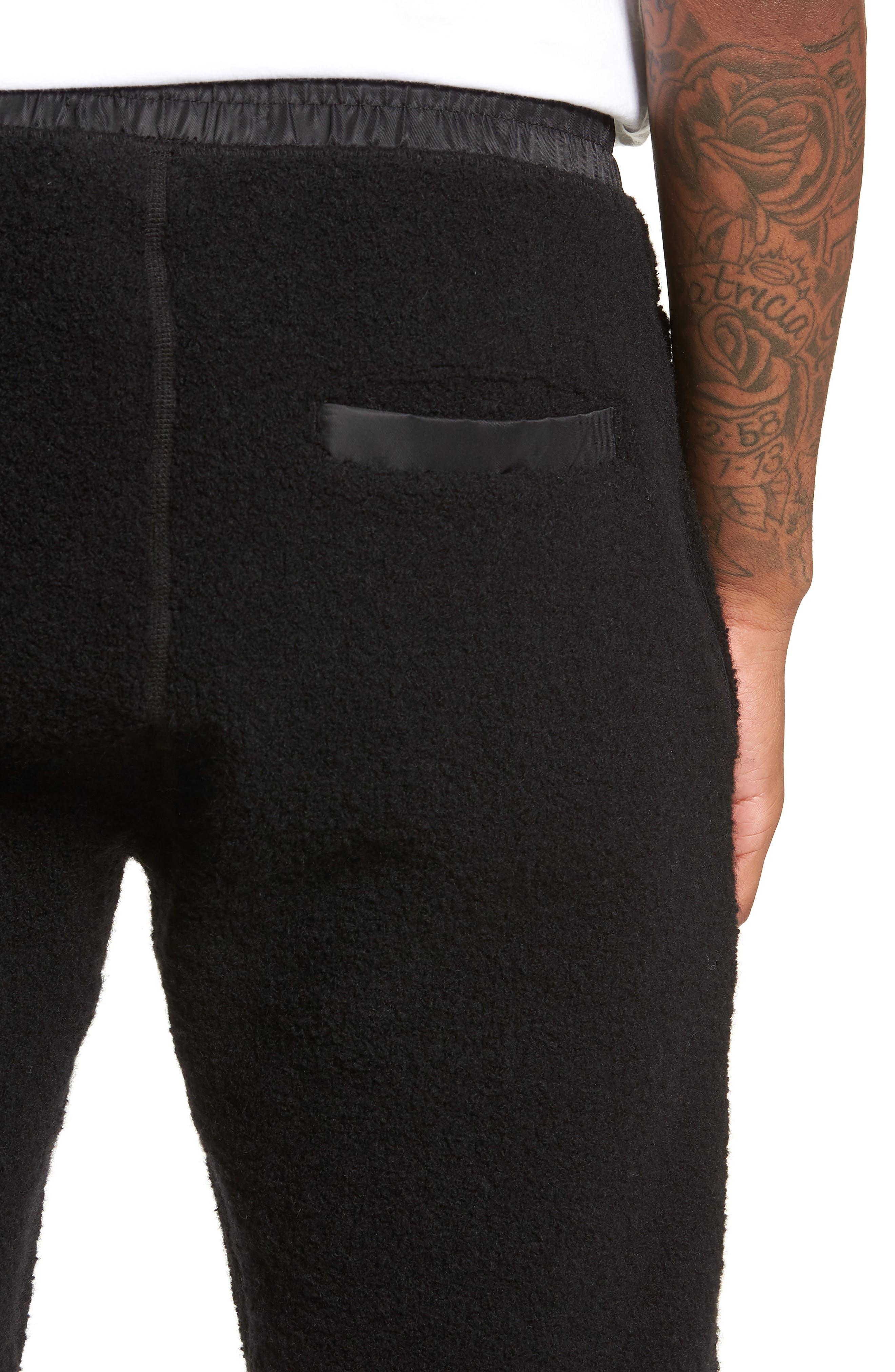 Tactical Fleece Pants,                             Alternate thumbnail 4, color,                             001
