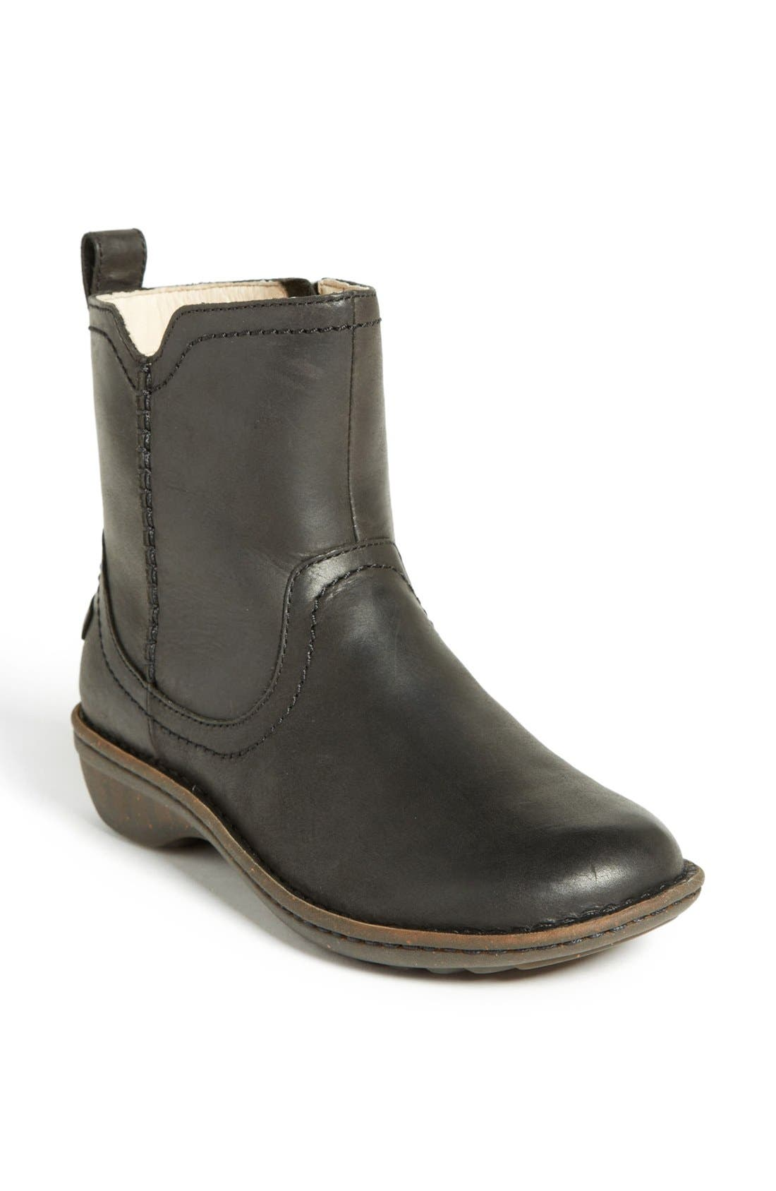 UGG<SUP>®</SUP> 'Neevah' Bootie, Main, color, 001