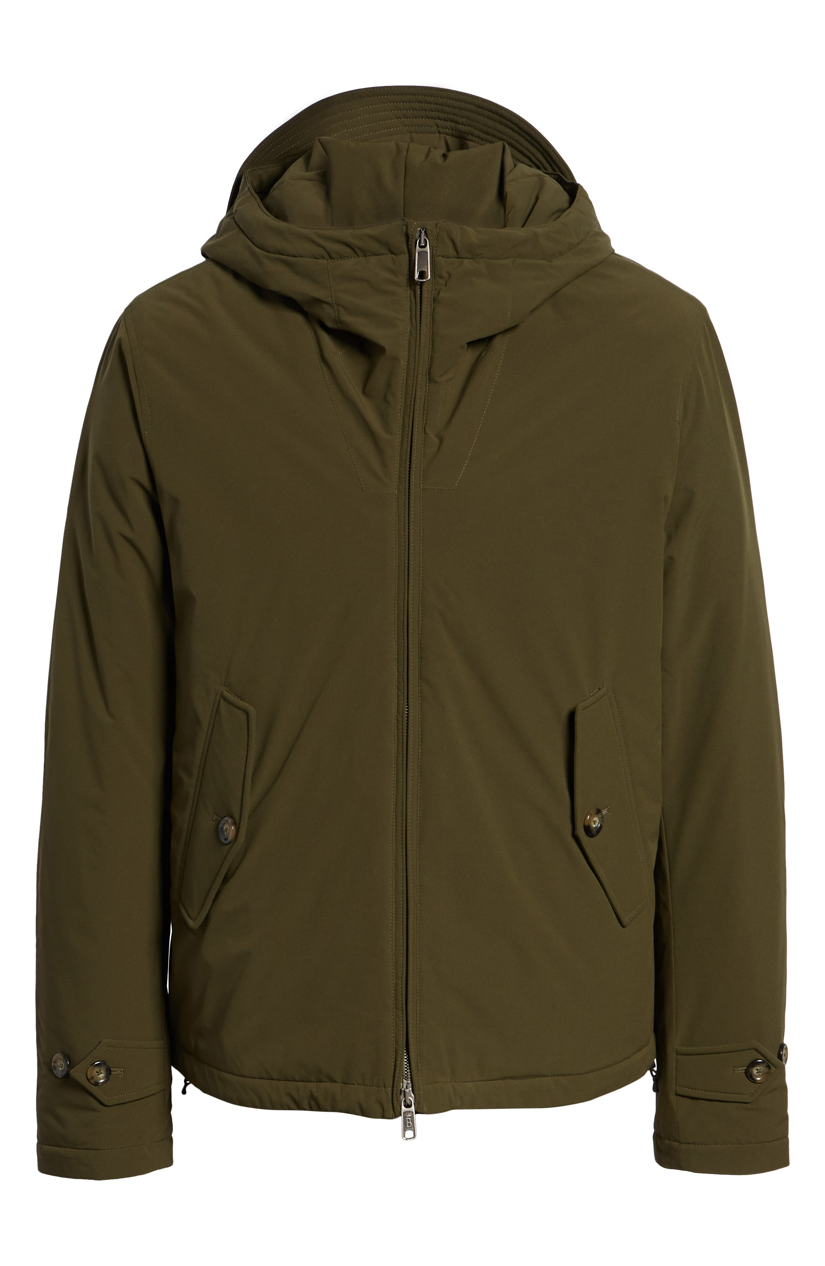 Hardy Stretch Water Repellent Anorak,                             Alternate thumbnail 6, color,                             BEECH