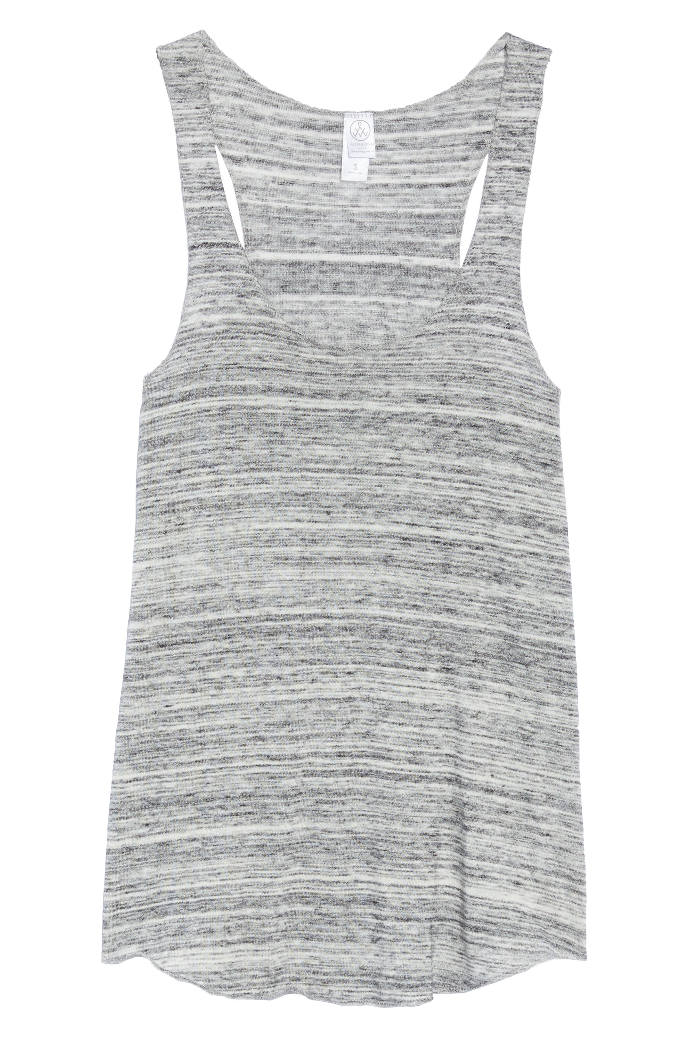 Meegs Racerback Tank,                             Alternate thumbnail 6, color,