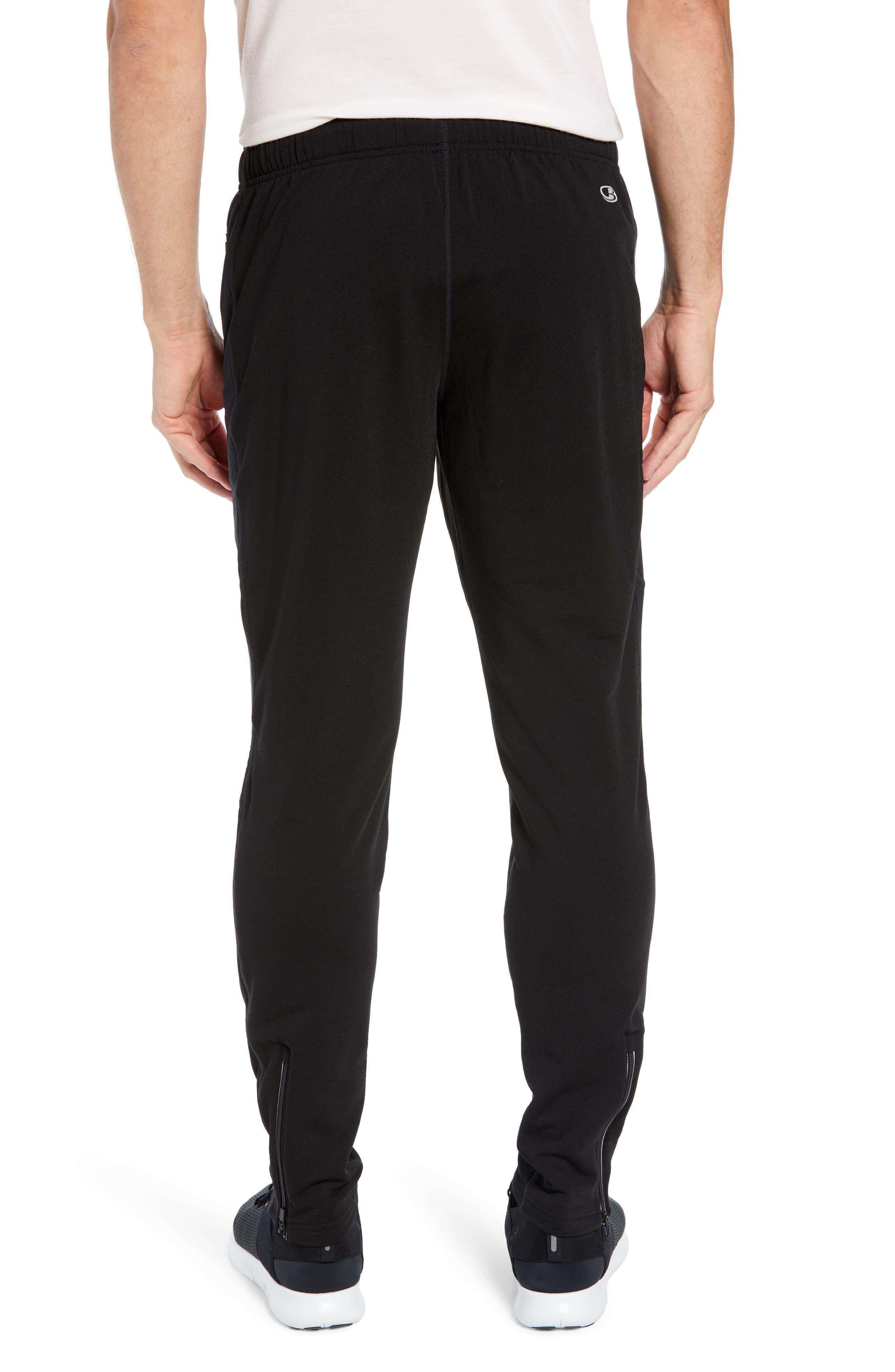 Tech Trainer Hybrid Sport Pants,                             Alternate thumbnail 2, color,                             BLACK